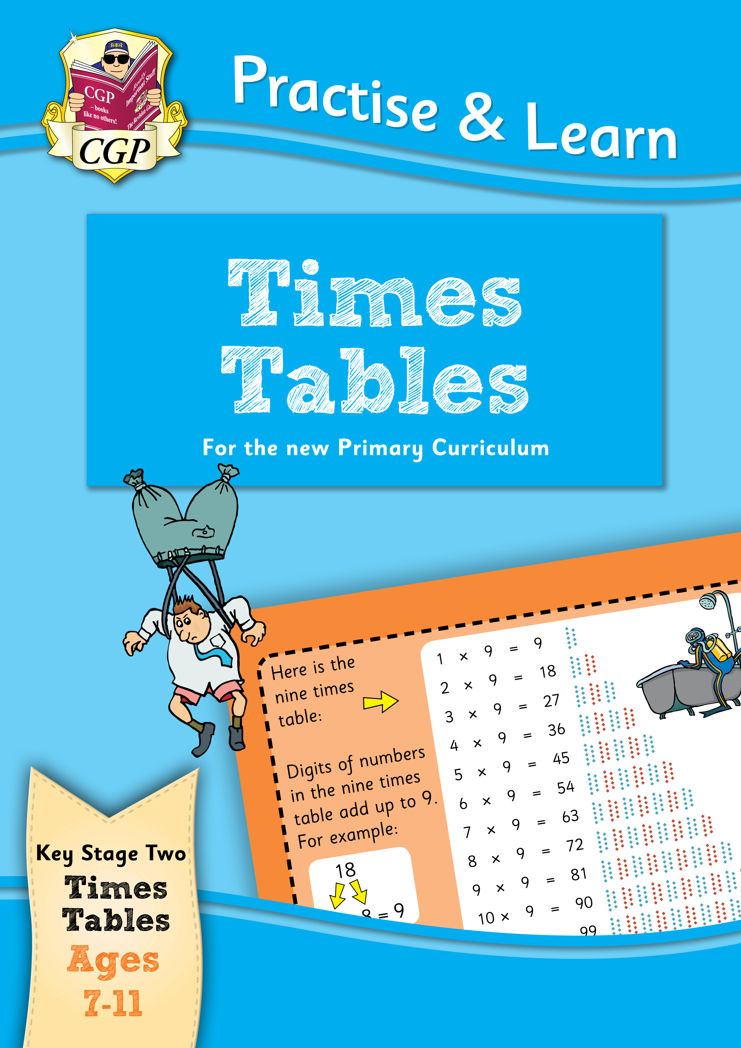 MPTT22DK - New Curriculum Practise & Learn: Times Tables for Ages 7-11