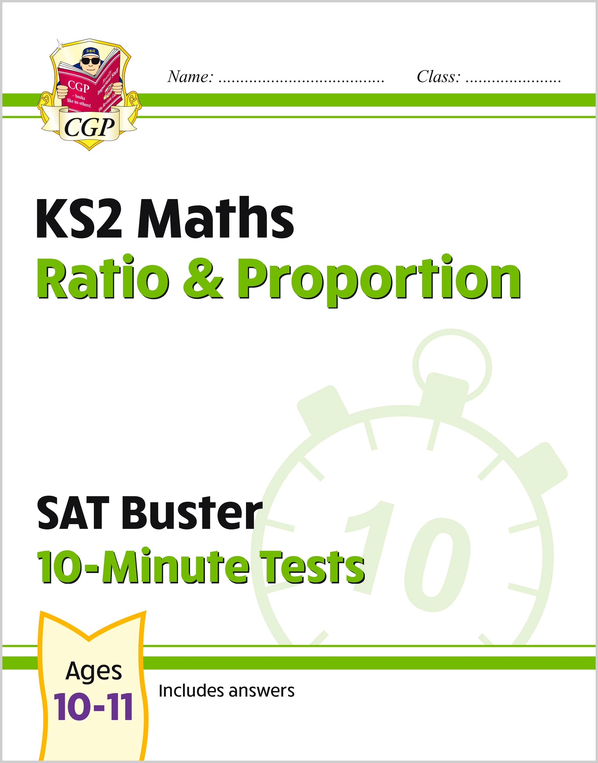 MRPXP21 - New KS2 Maths SAT Buster 10-Minute Tests - Ratio & Proportion (for the 2020 tests)