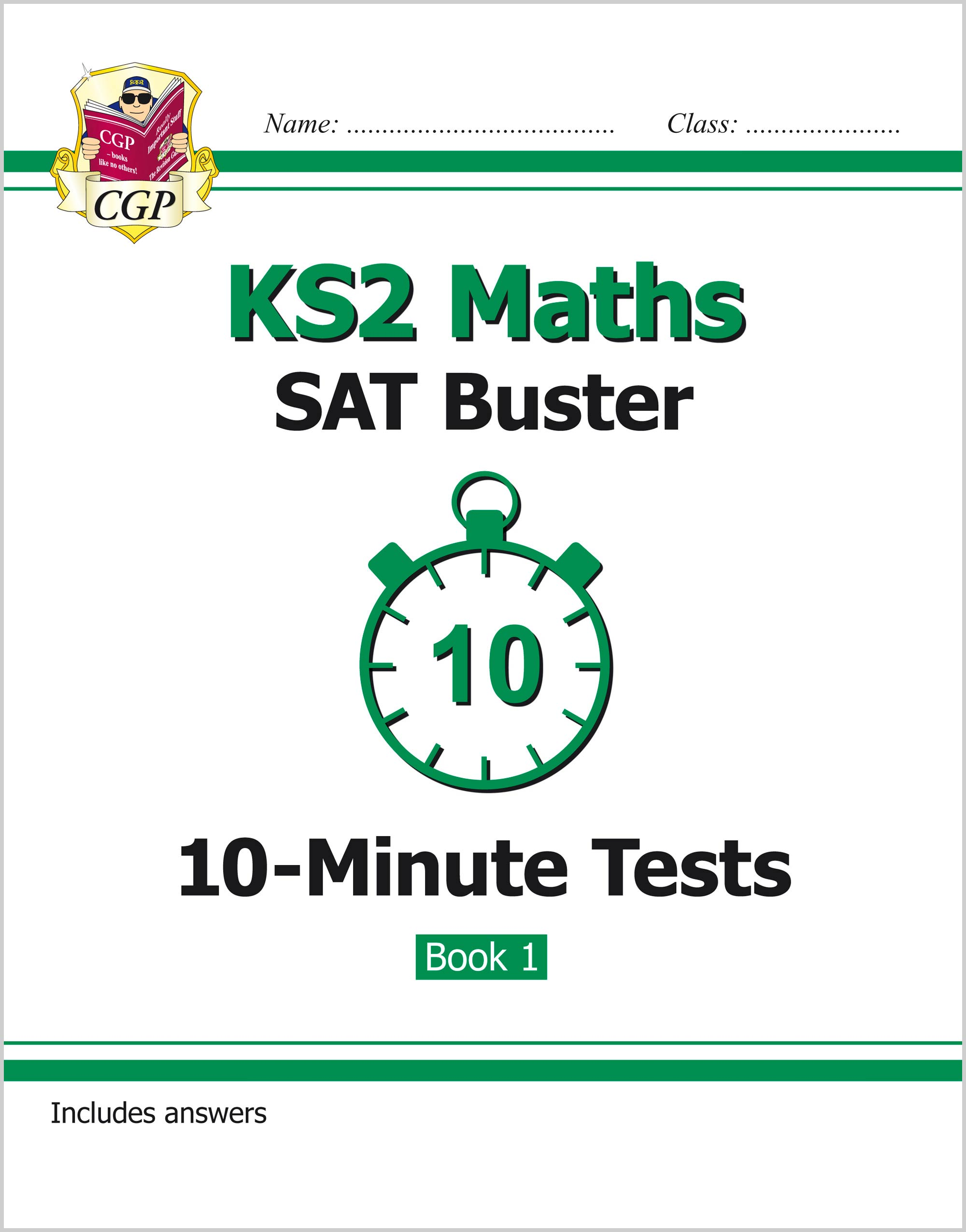 MXP22 - KS2 Maths SAT Buster: 10-Minute Tests Maths - Book 1 (for tests in 2018 and beyond)