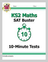 MXP22DK - KS2 Maths SAT Buster: 10-Minute Tests Maths - Book 1 (for tests in 2018 and beyond)