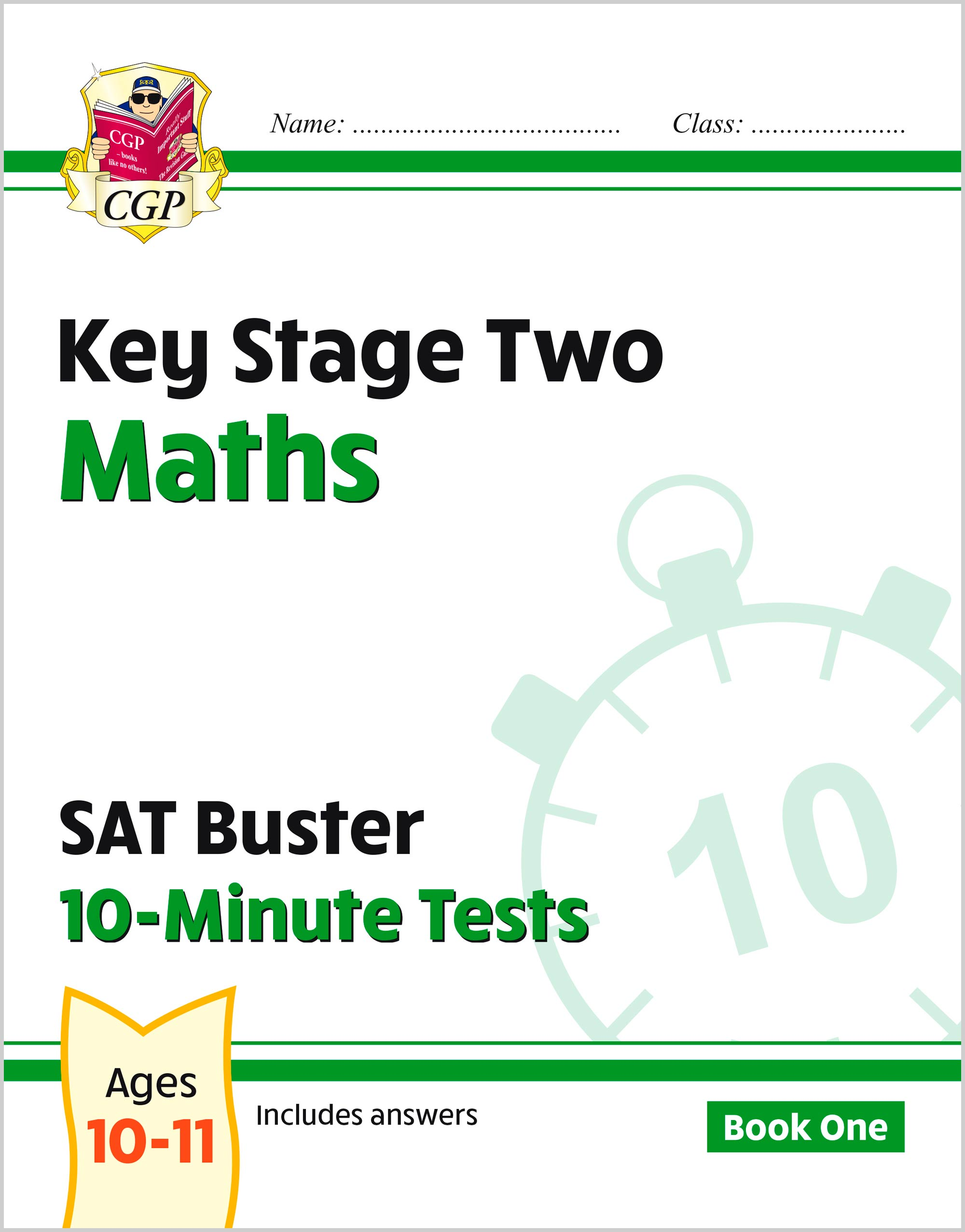 MXP23 - New KS2 Maths SAT Buster 10-Minute Tests - Book 1