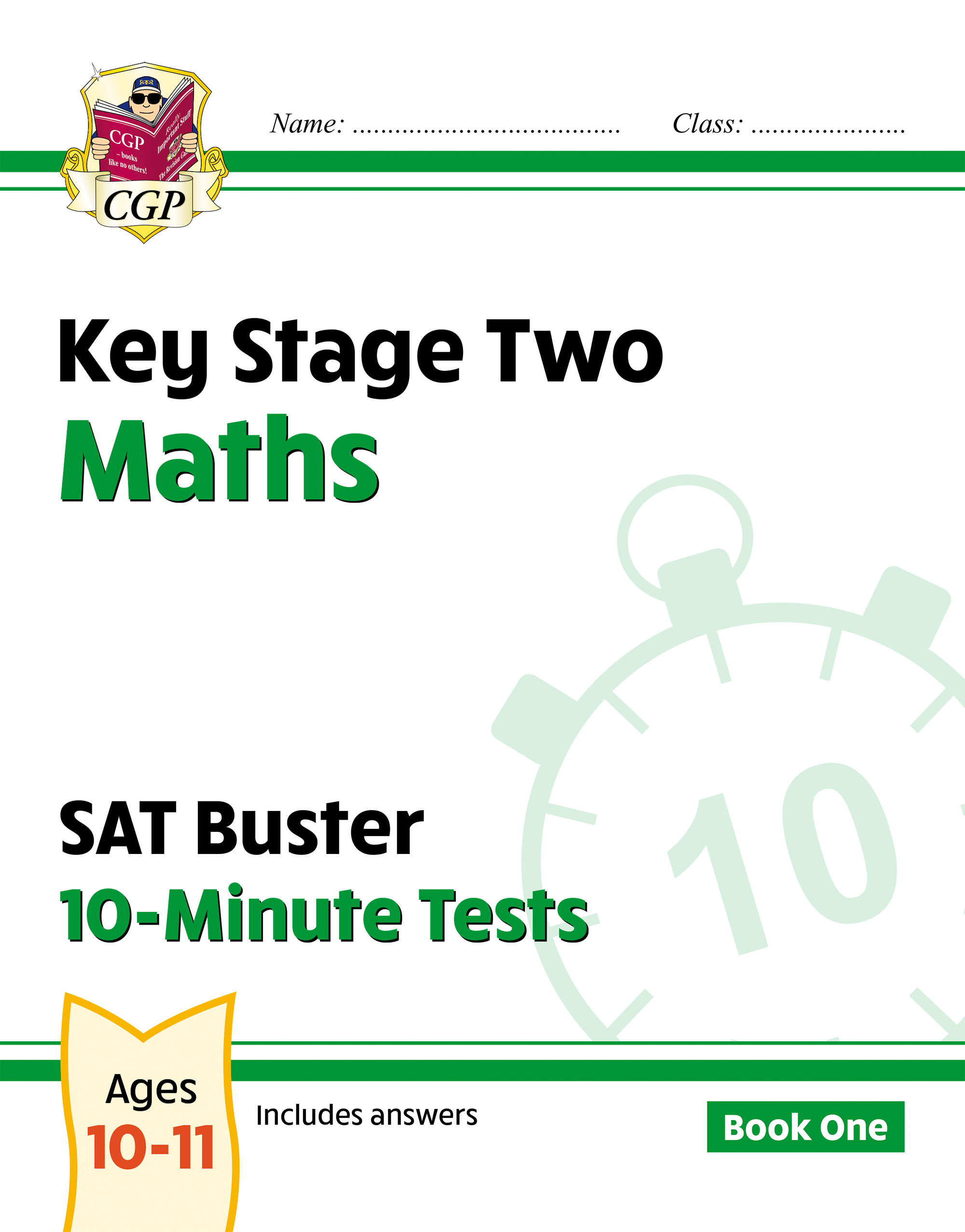 MXP23D - New KS2 Maths SAT Buster 10-Minute Tests - Book 1 (for the 2021 tests) Online Edition