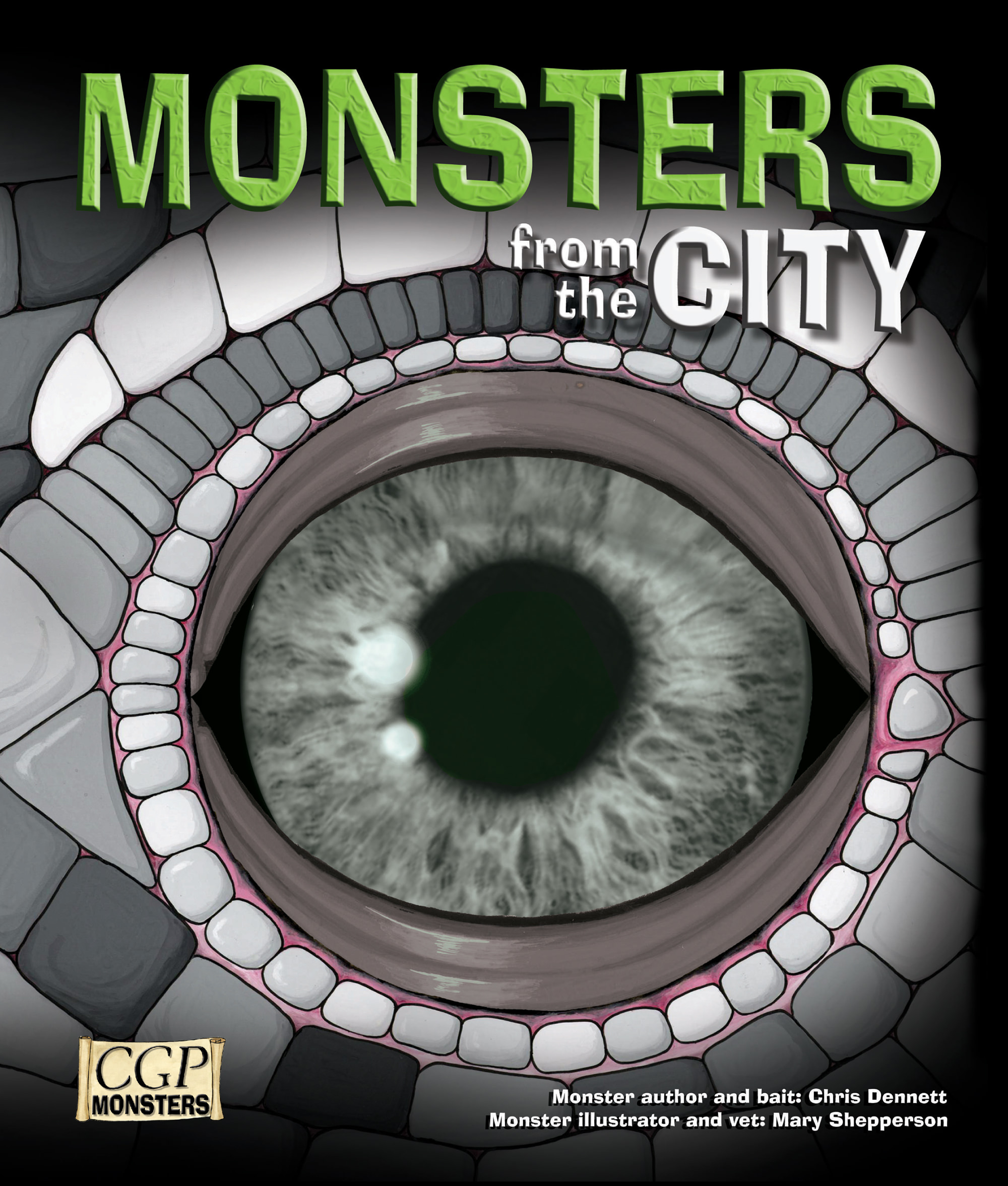 RCIM21 - KS2 Monsters from the City Reading Book