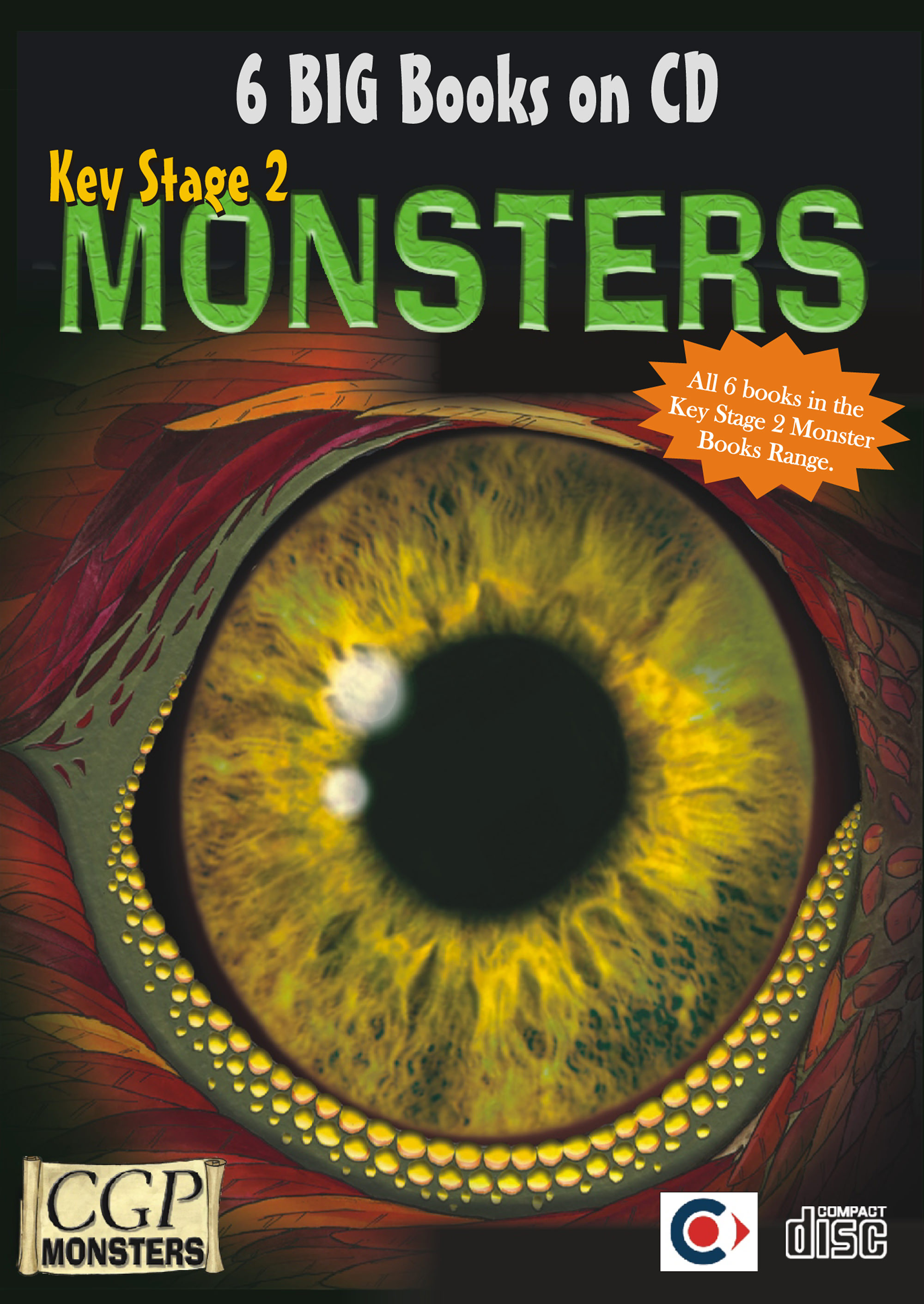 RCM21 - KS2 Monsters CDROM