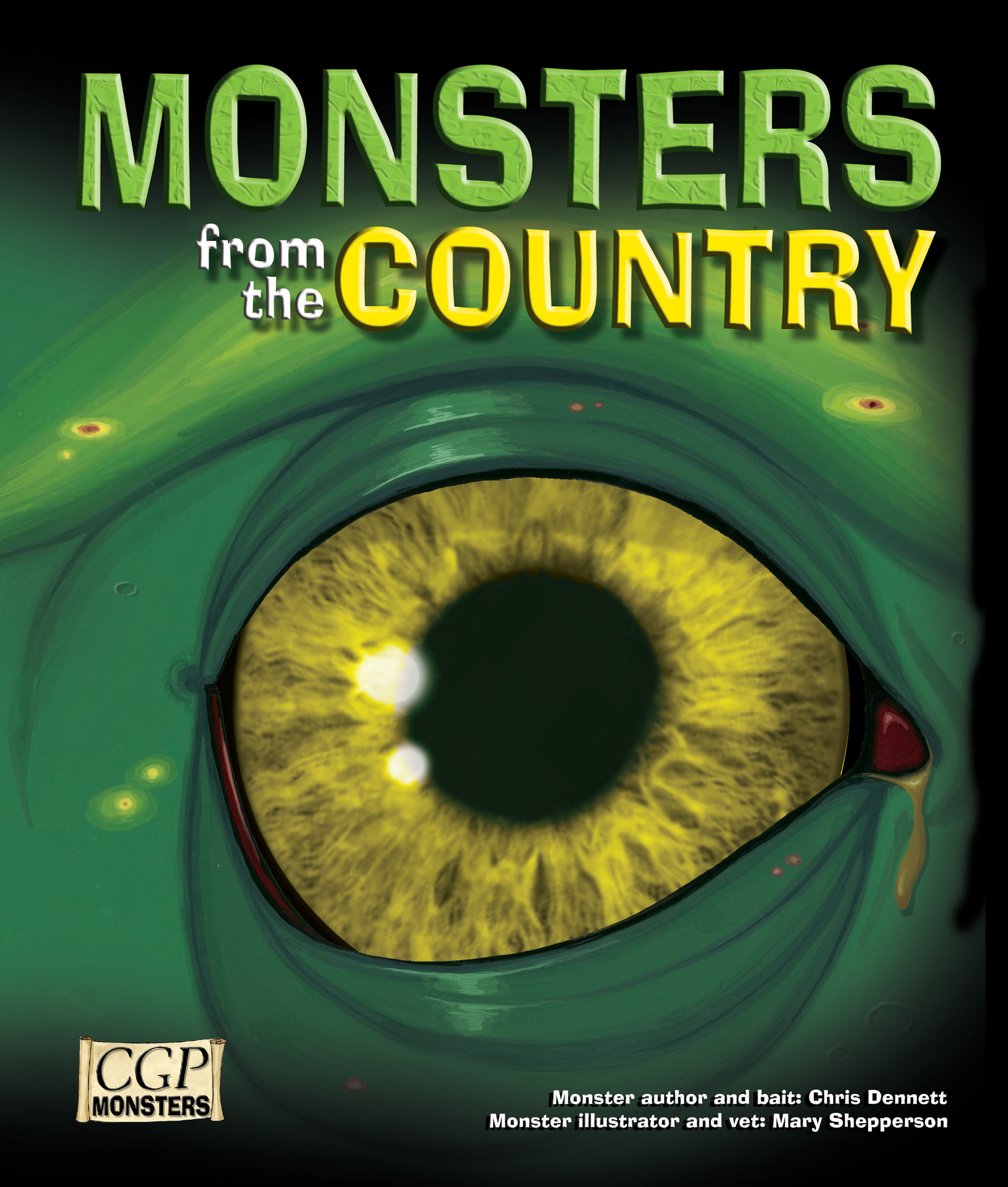 RCOM21 - KS2 Monsters from the Country Reading Book