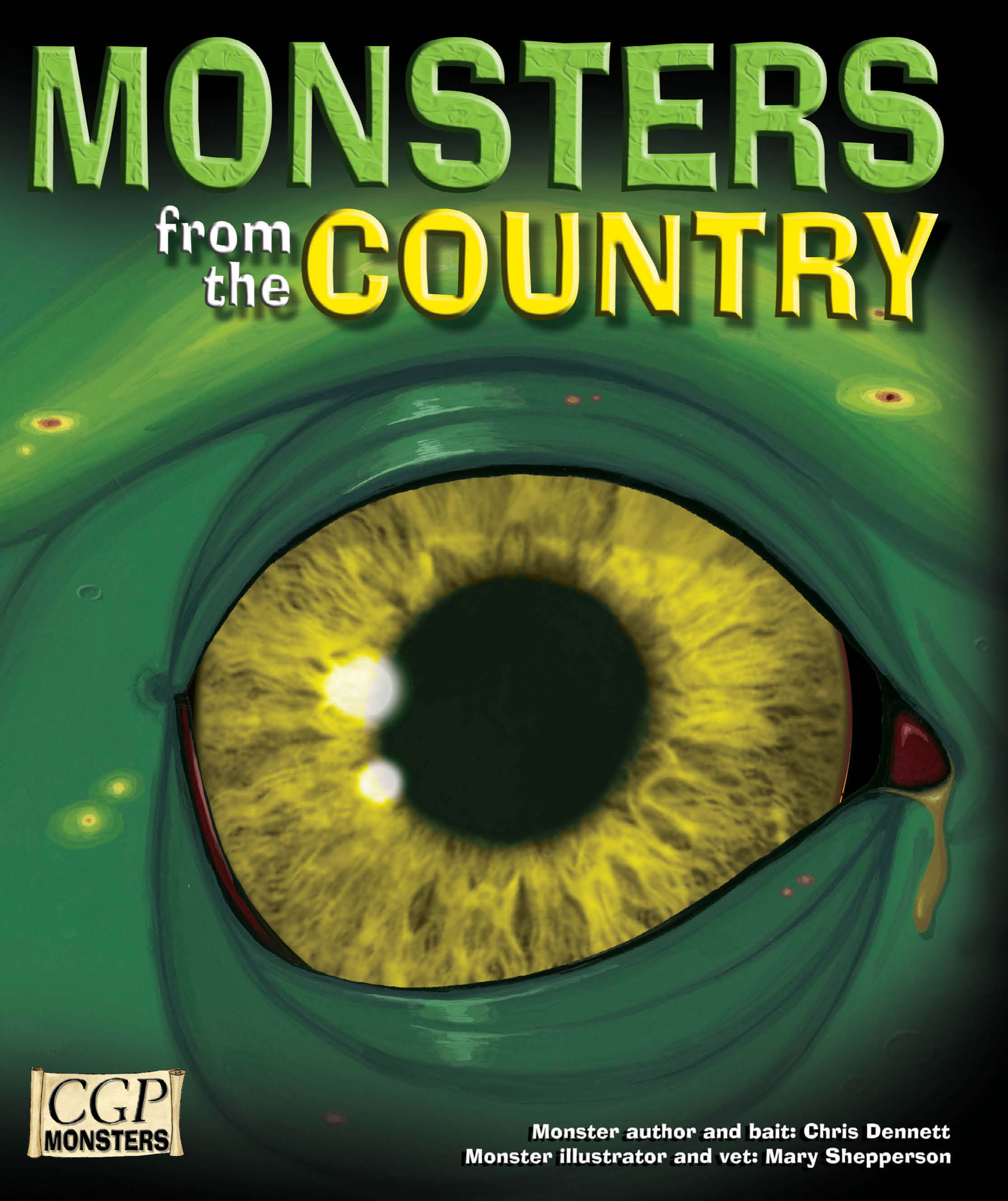 RCOM21DK - KS2 Monsters from the Country Reading Book