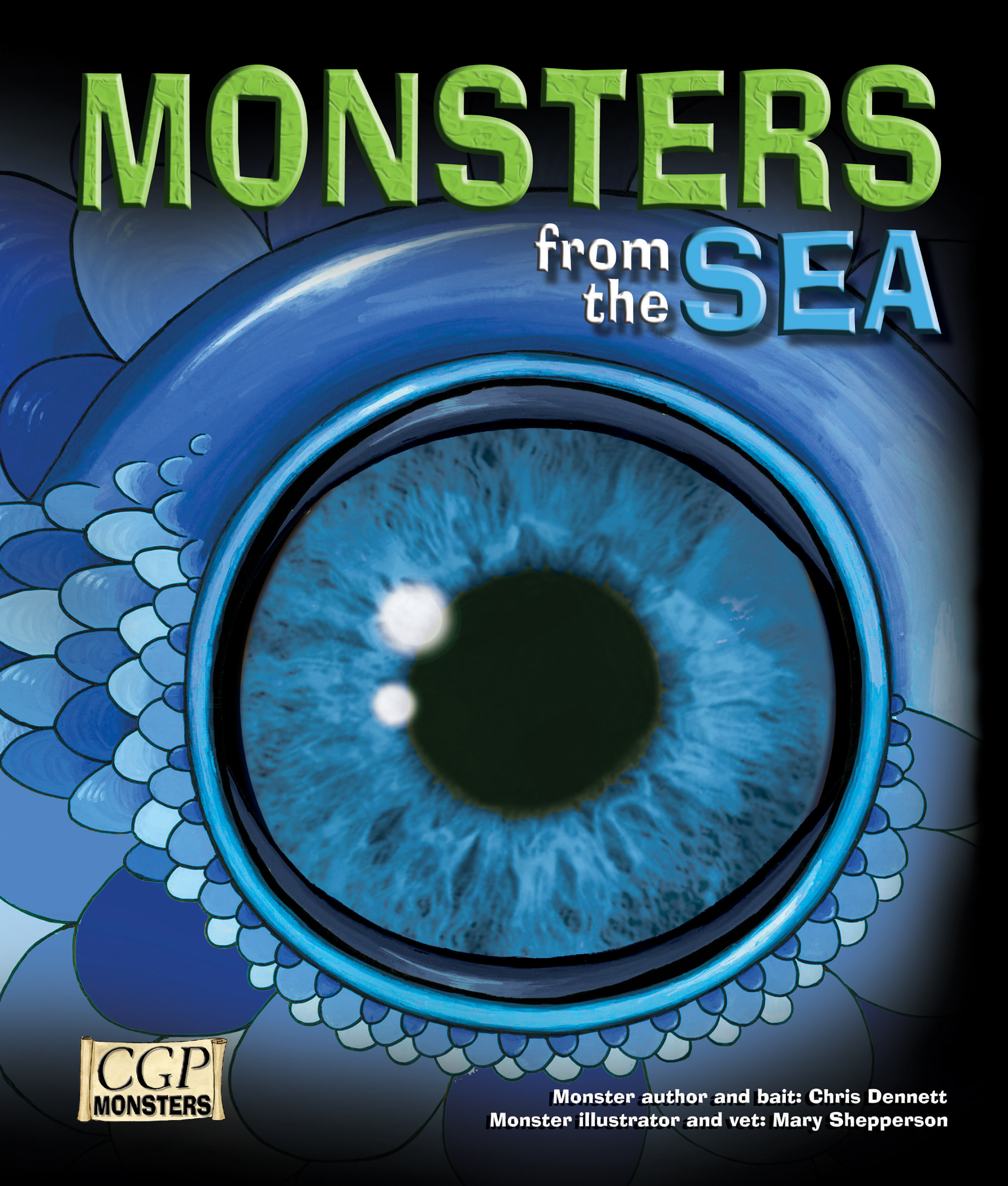 RSEM21 - KS2 Monsters from the Sea Reading Book