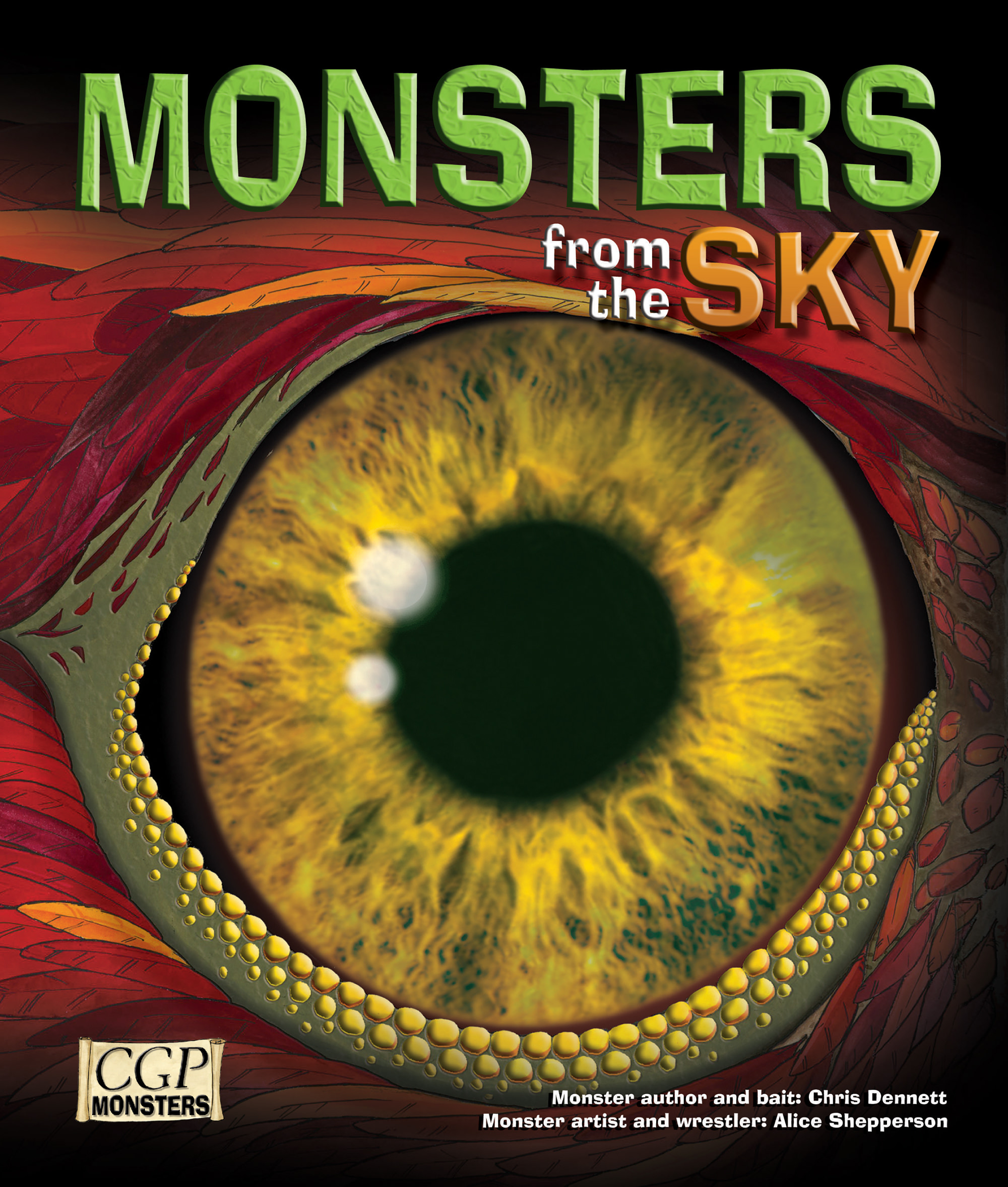 RSKM21 - KS2 Monsters from the Sky Reading Book