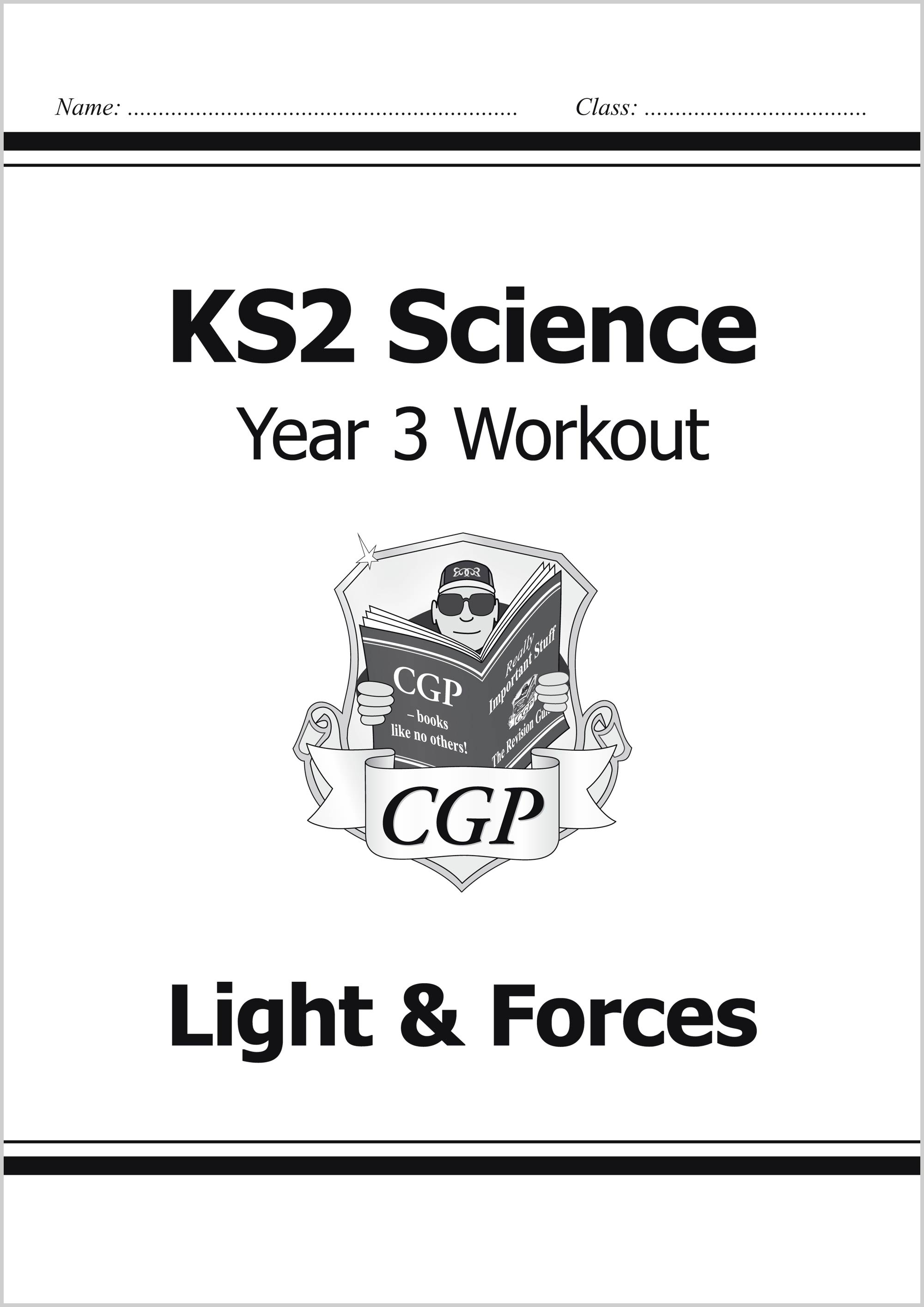 S3D22 - KS2 Science Year Three Workout: Light & Forces