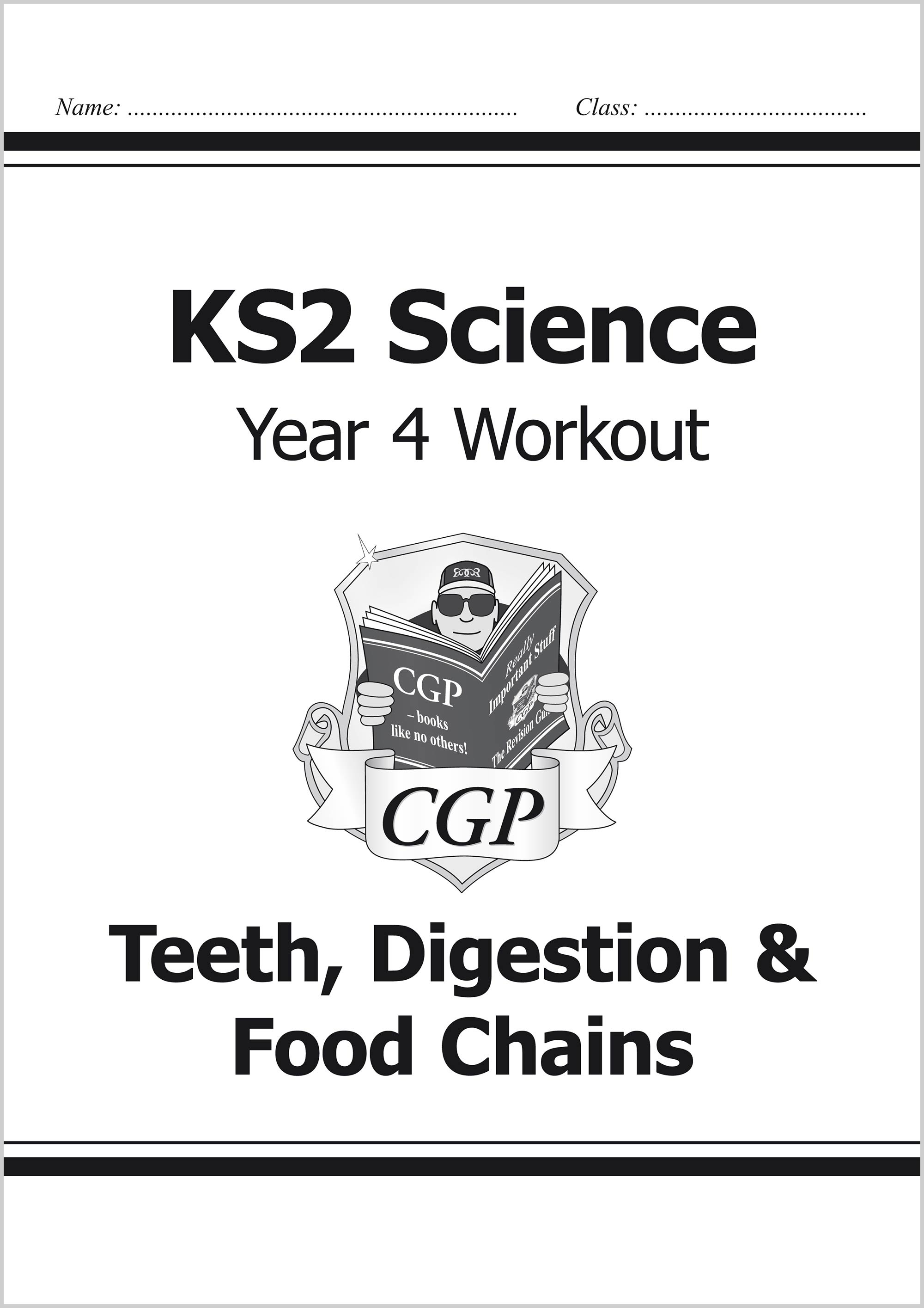 S4B22 - KS2 Science Year Four Workout: Teeth, Digestion & Food Chains
