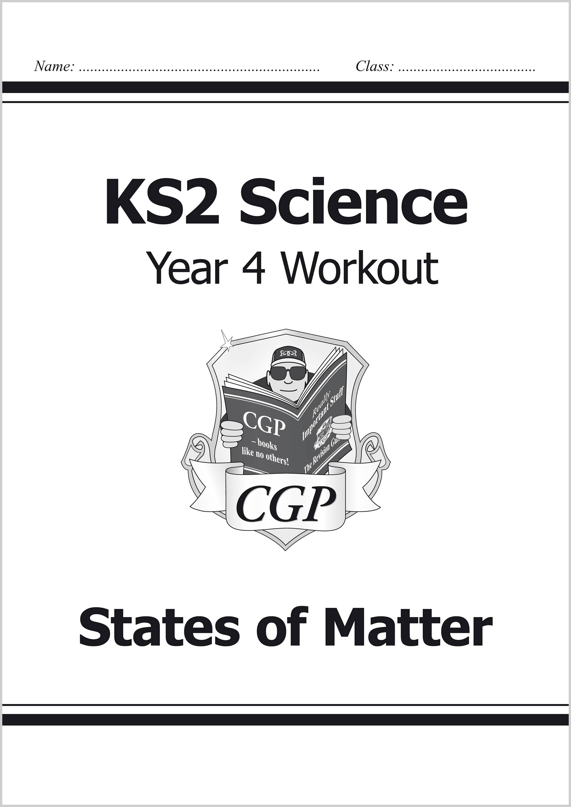 S4C22 - KS2 Science Year Four Workout: States of Matter