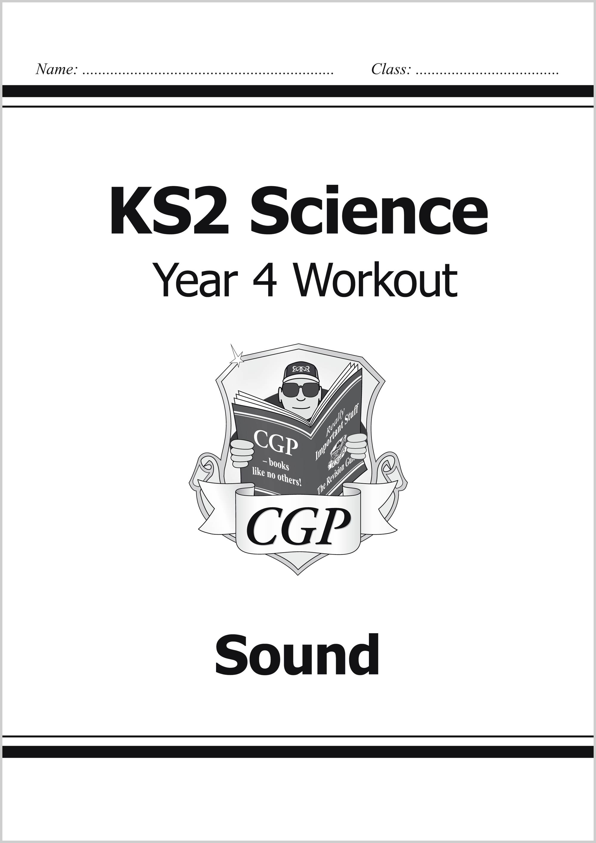 S4D22 - KS2 Science Year Four Workout: Sound