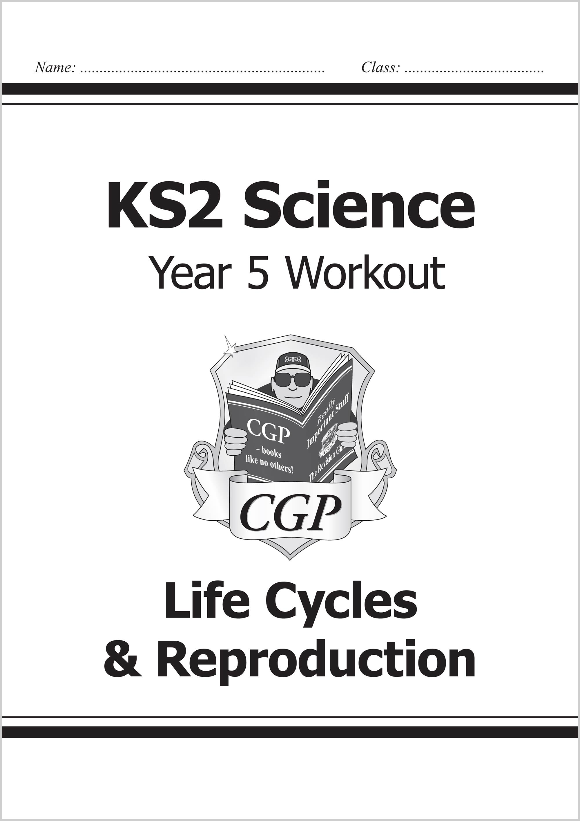 S5A22 - KS2 Science Year Five Workout: Life Cycles & Reproduction