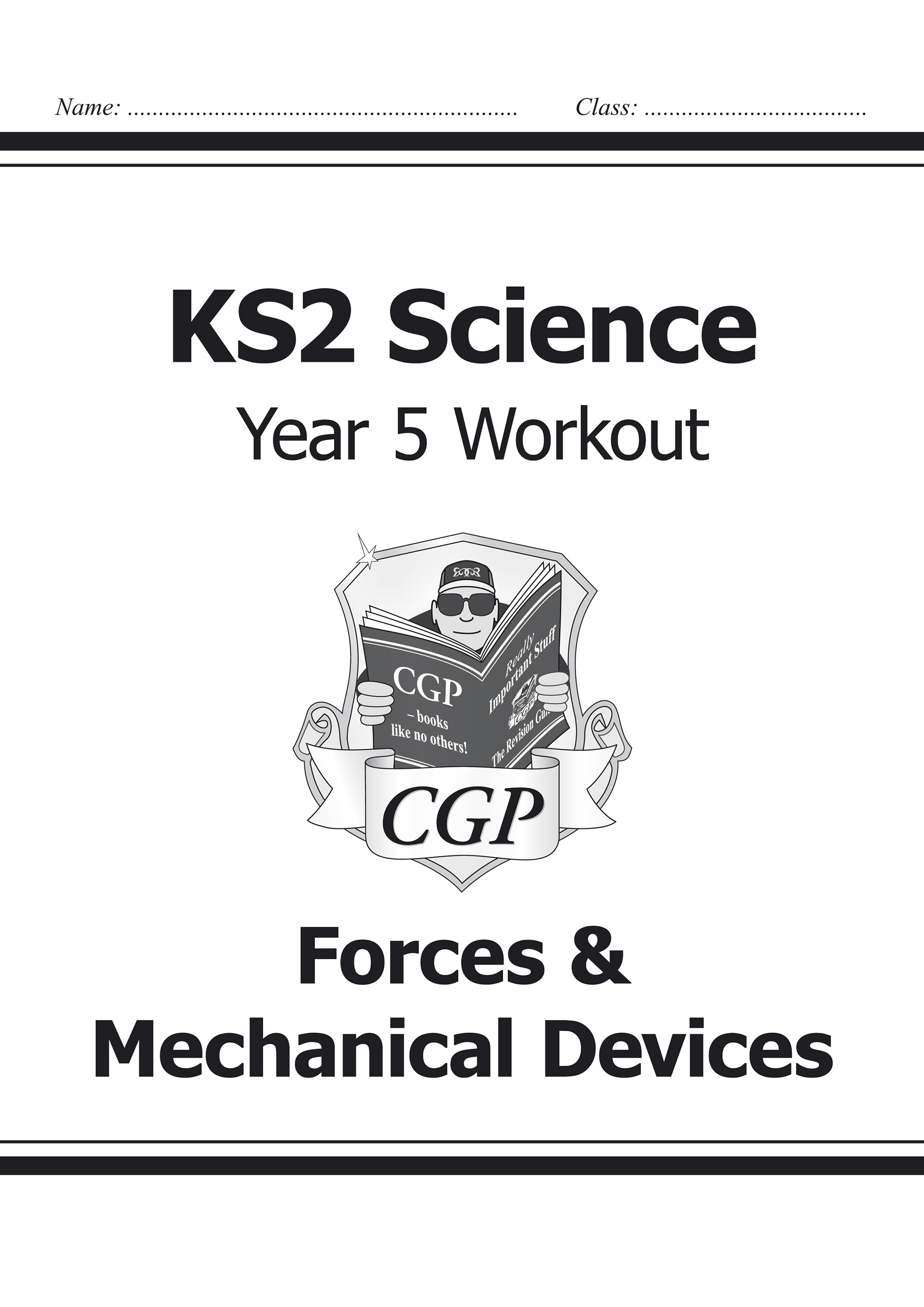 S5D22 - KS2 Science Year Five Workout: Forces & Mechanical Devices