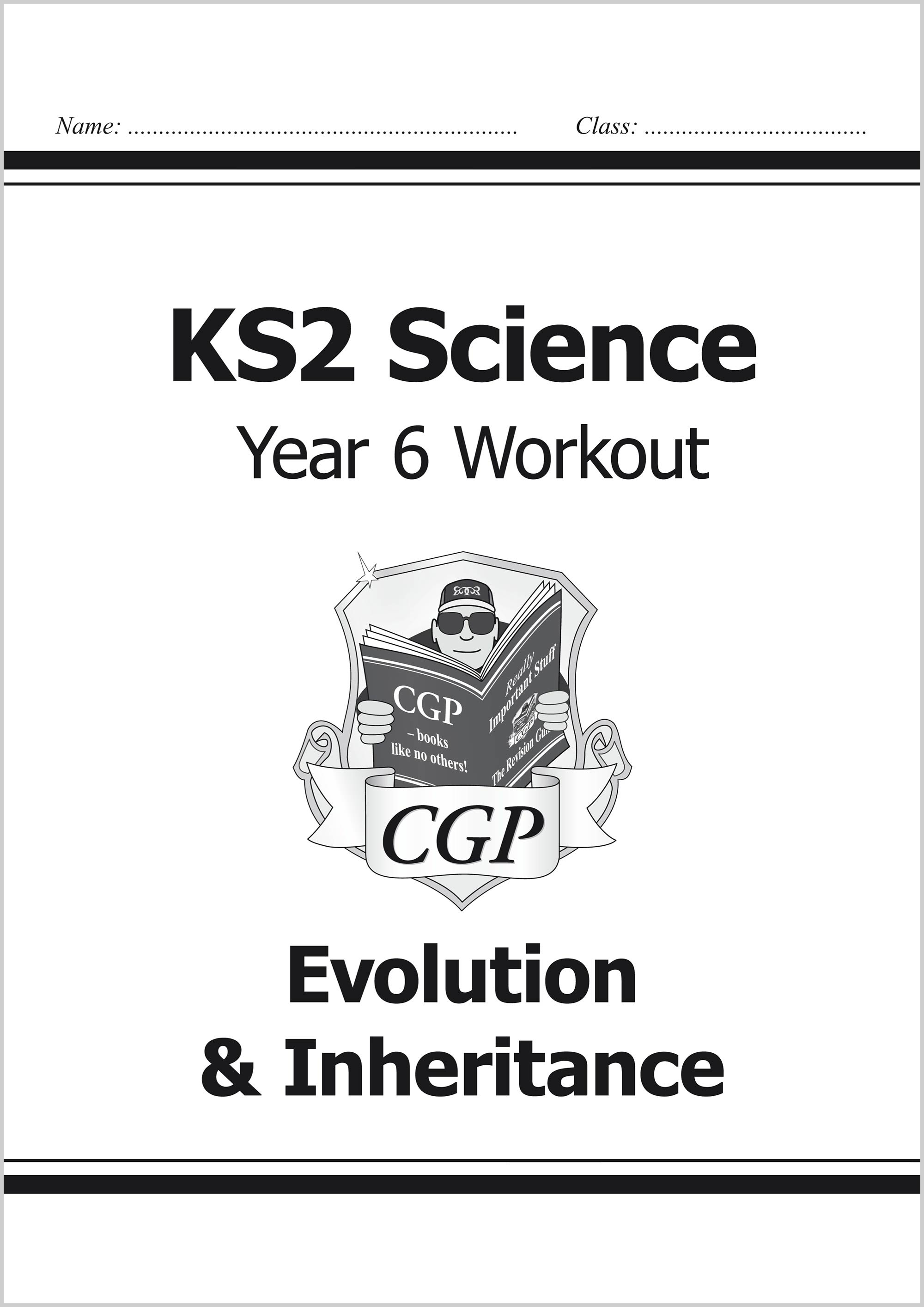 S6B22 - KS2 Science Year Six Workout: Evolution & Inheritance