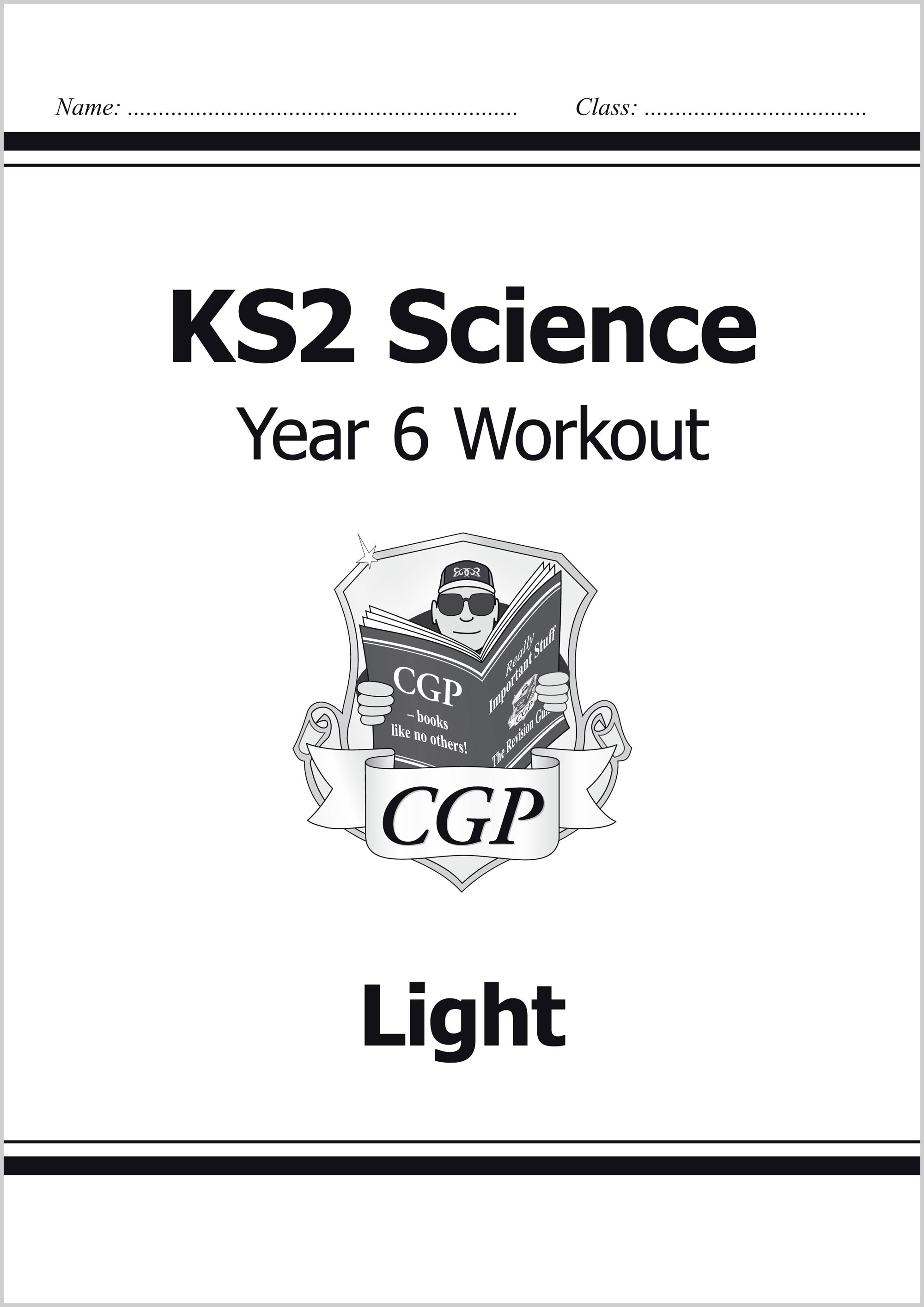 S6C22 - KS2 Science Year Six Workout: Light