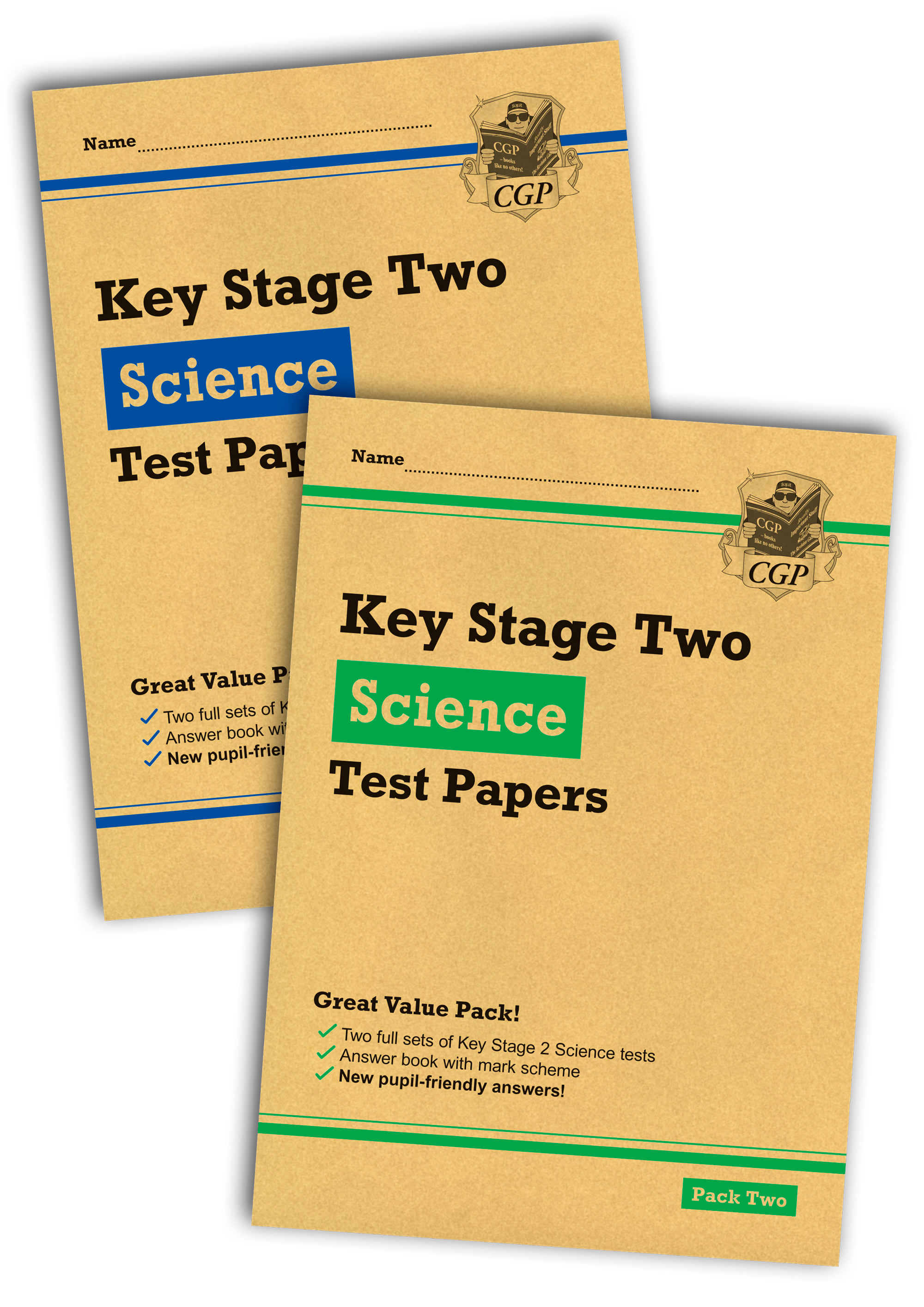 SHB2P23 - New KS2 Science Test Bundle: Pack 1 & 2 (for the 2019 tests)