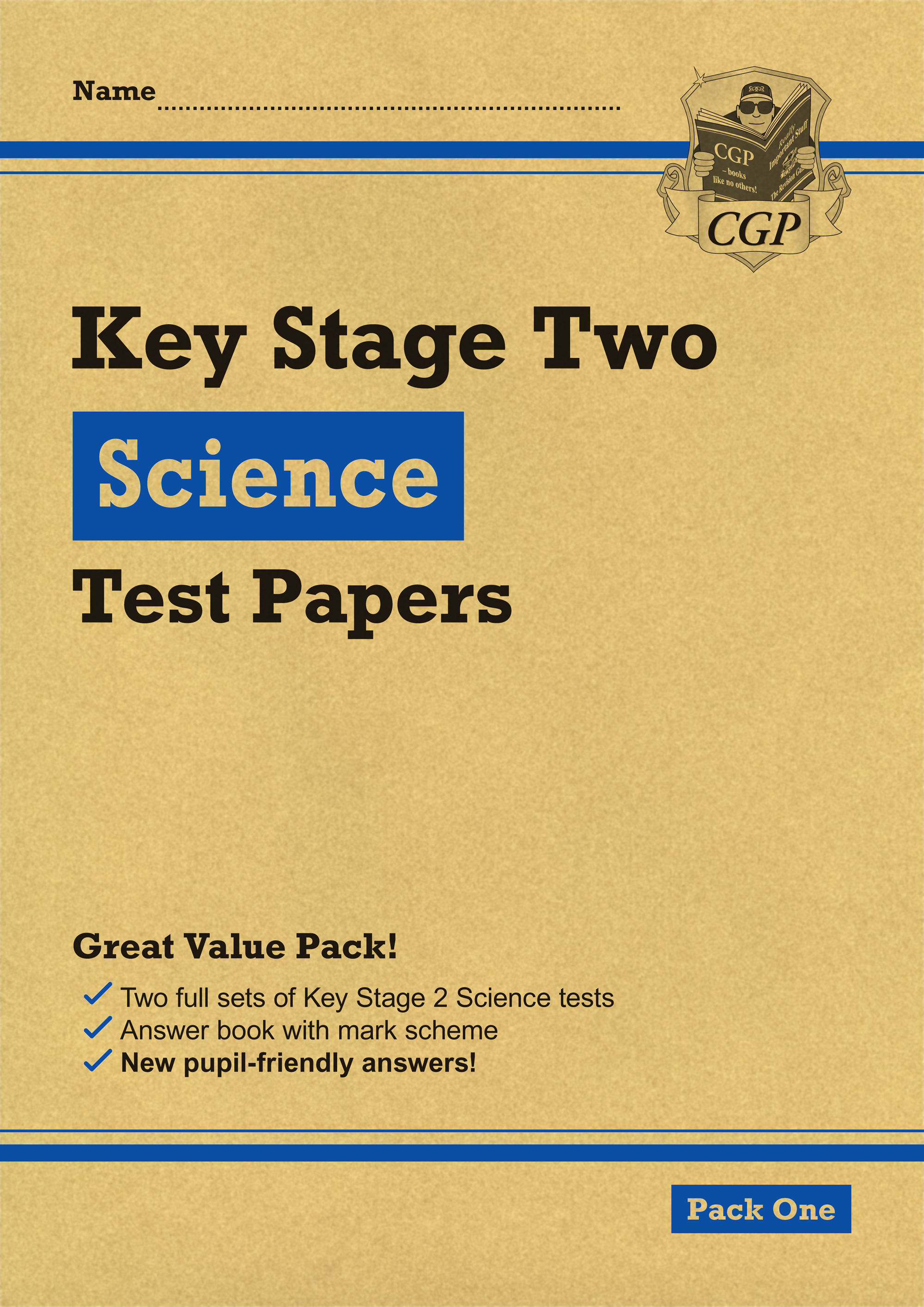 SHEP23 - KS2 Science Tests: Pack 1