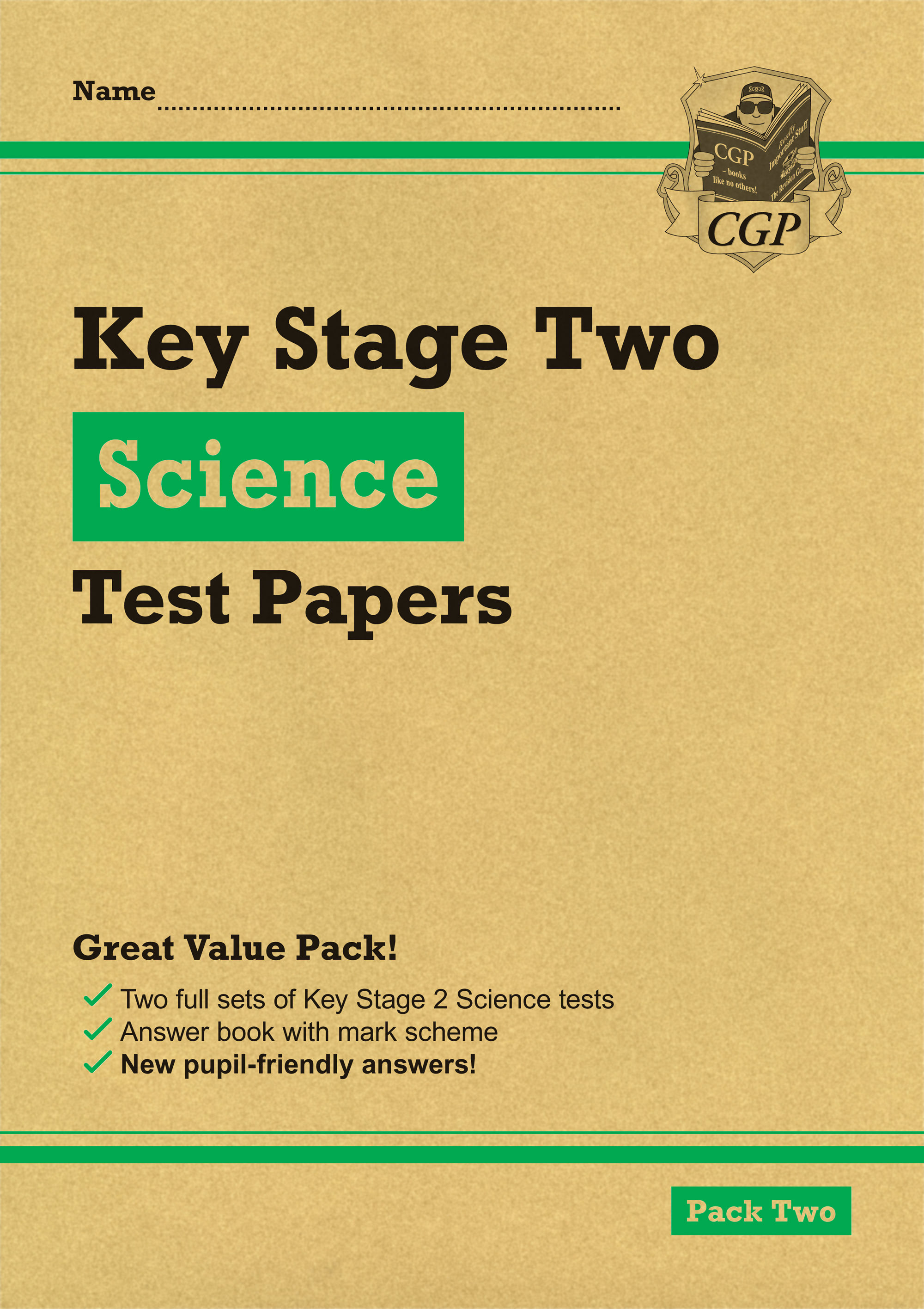 SHGP24 - New KS2 Science Tests: Pack 2