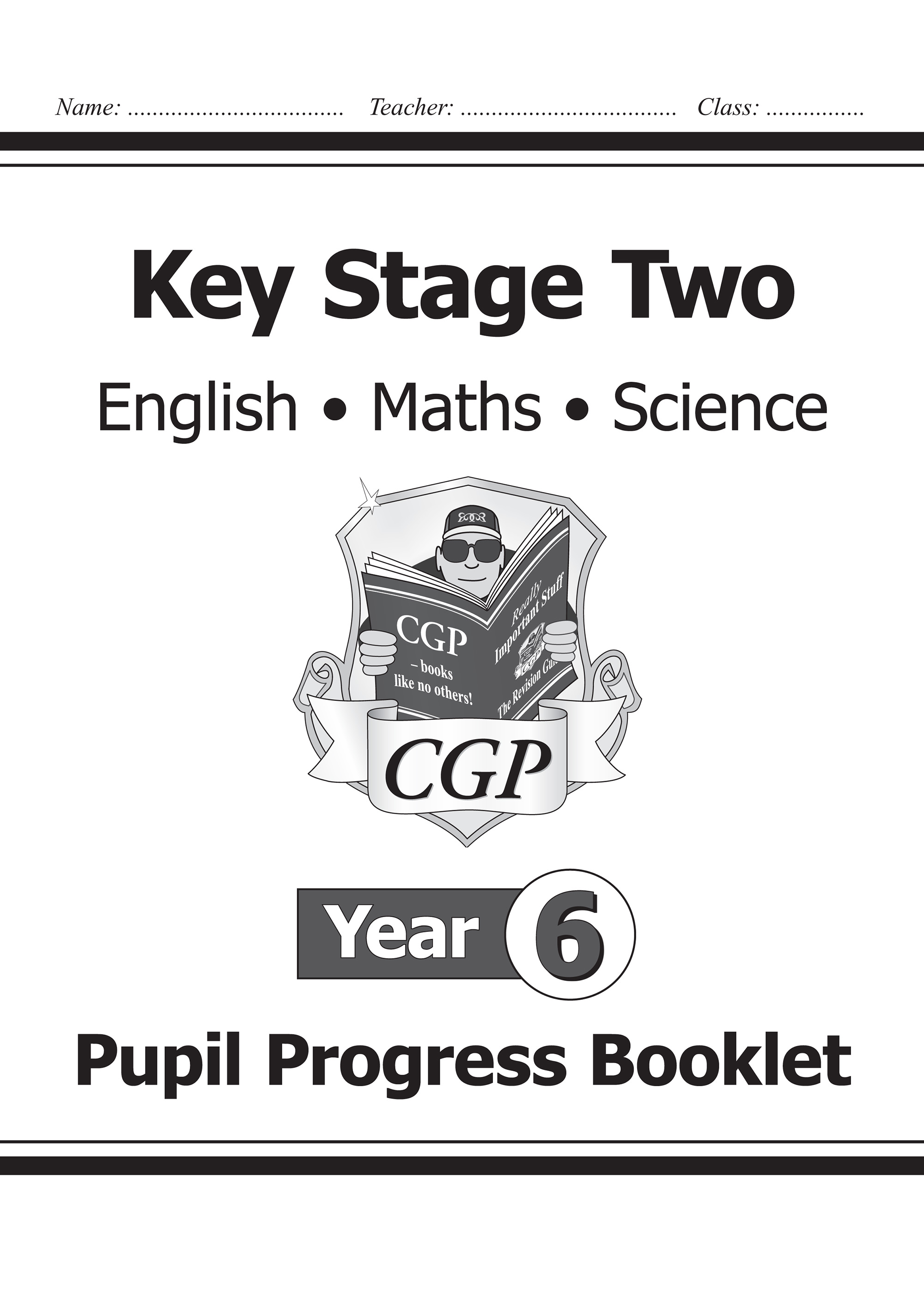 SME6P21 - KS2 Pupil Progress Booklet for English, Maths and Science - Year 6
