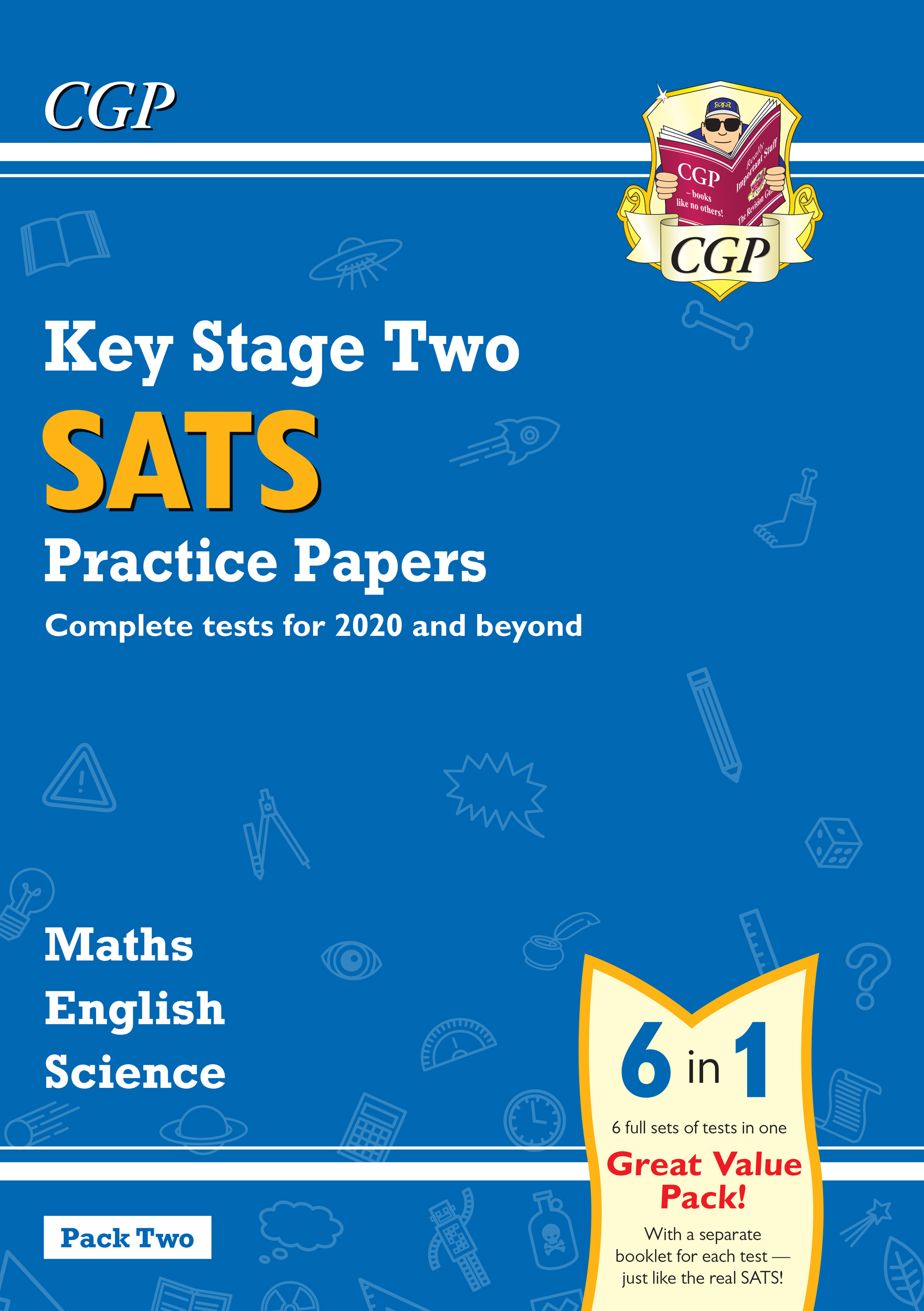 SMEB223 - New KS2 Complete SATS Practice Papers Pack: Science, Maths & English (for the 2019 tests)