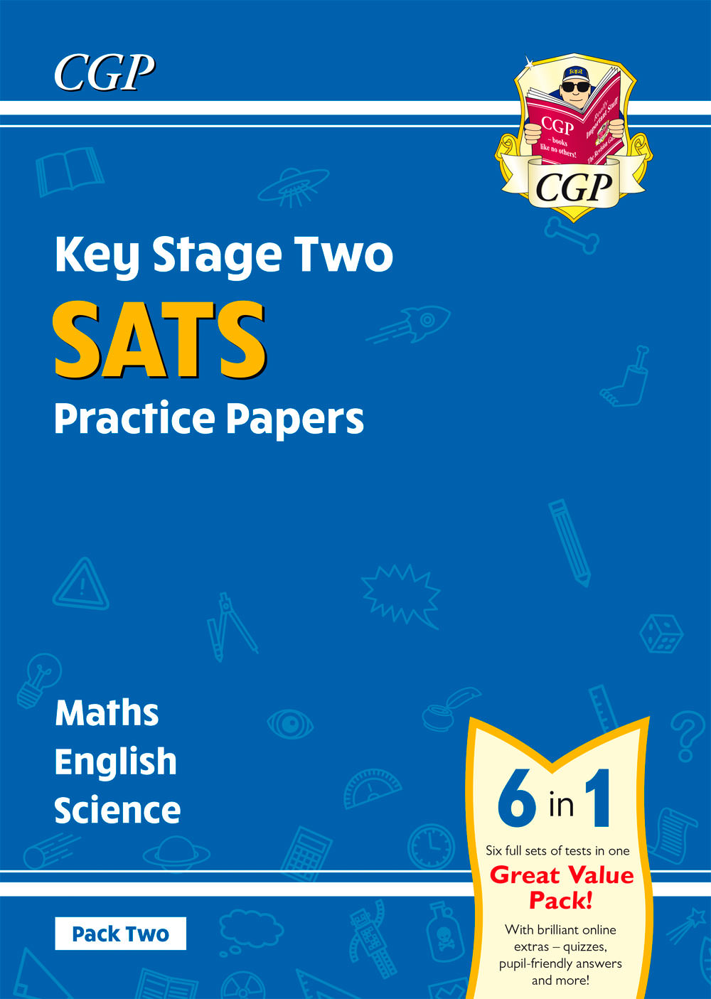 SMEB224 - New KS2 Complete SATS Practice Papers Pack 2: Science, Maths & English