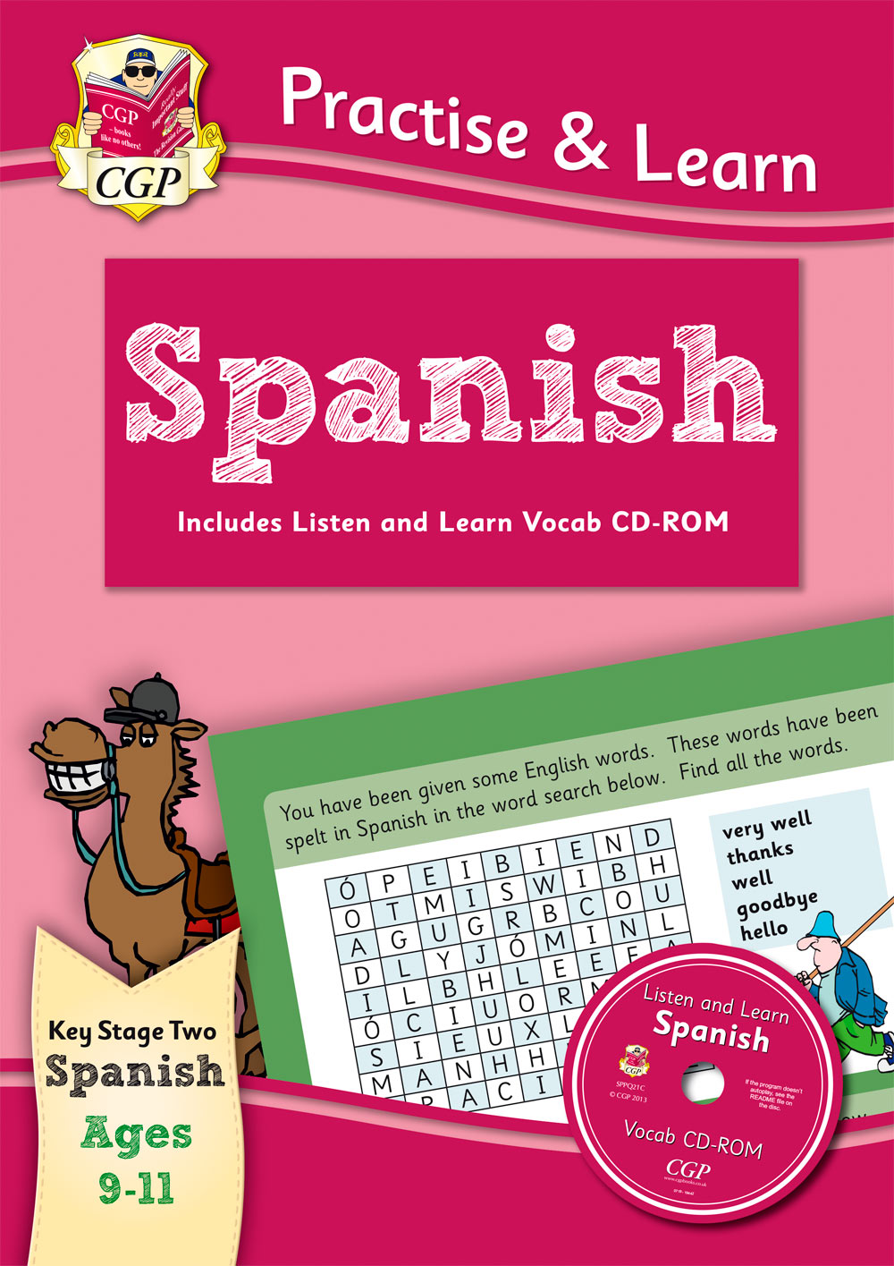 SPP6Q22 - Practise & Learn: Spanish for Ages 9-11 - with vocab CD-ROM