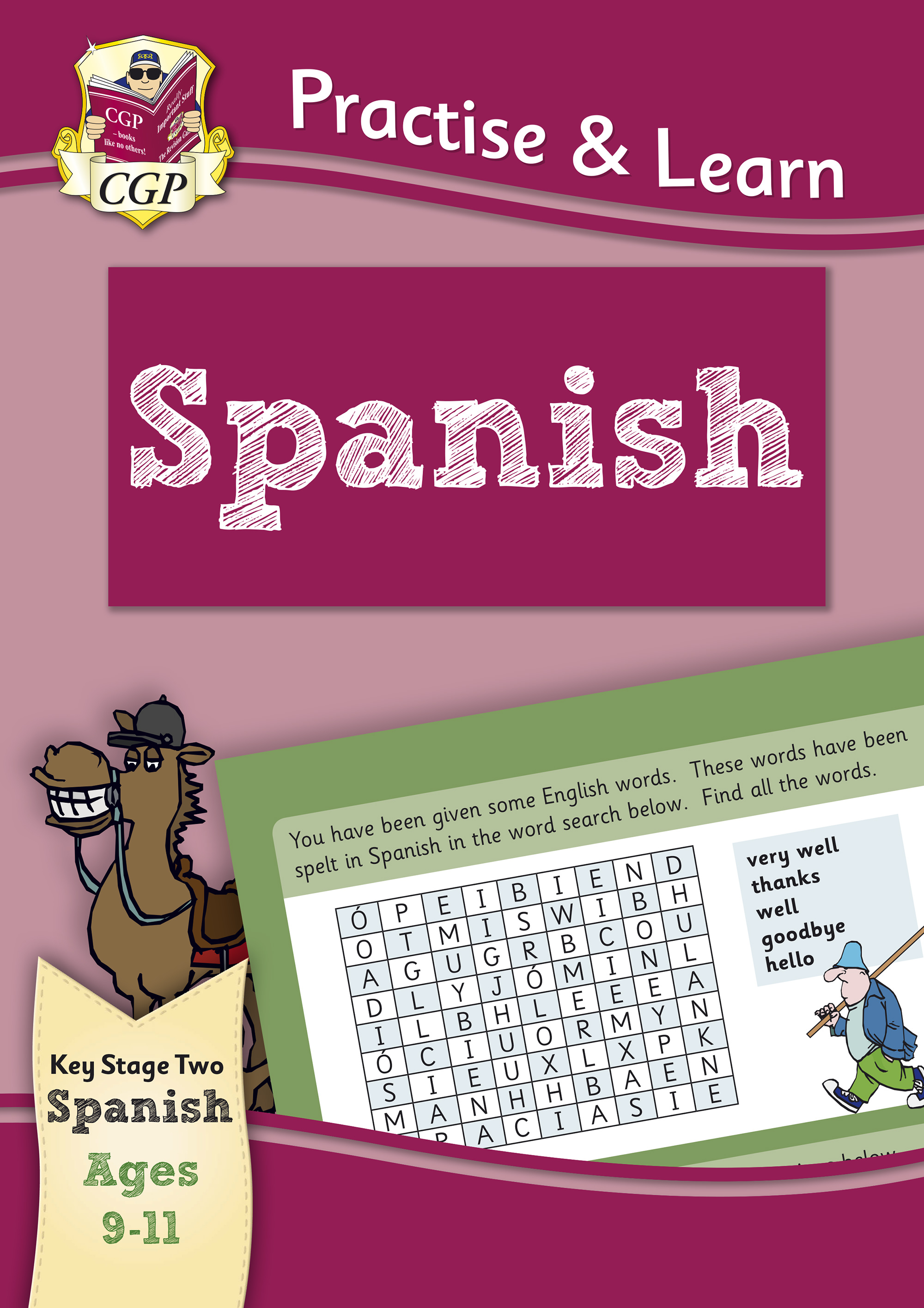 SPP6Q22DK - Practise & Learn: Spanish for Ages 9-11 Online Edition