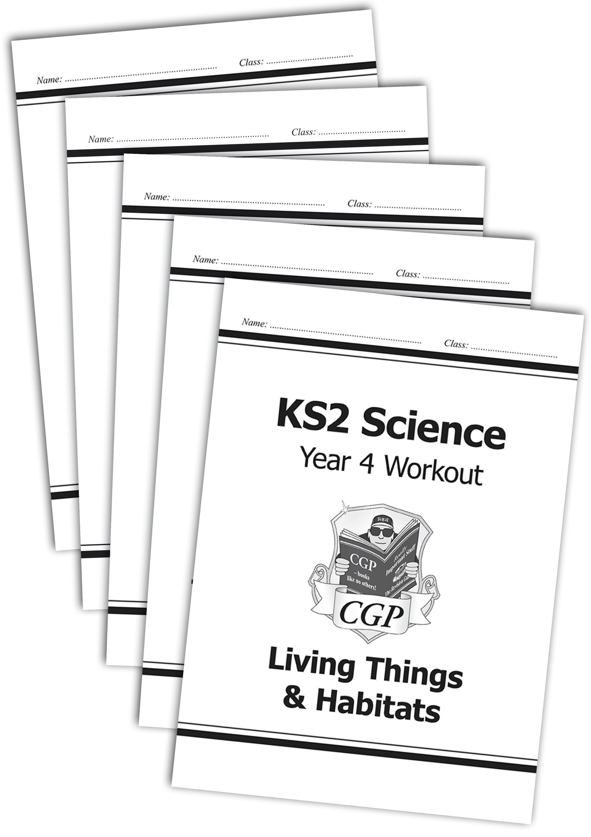 SWB422 - KS2 Science Year 4 Workout Bundle