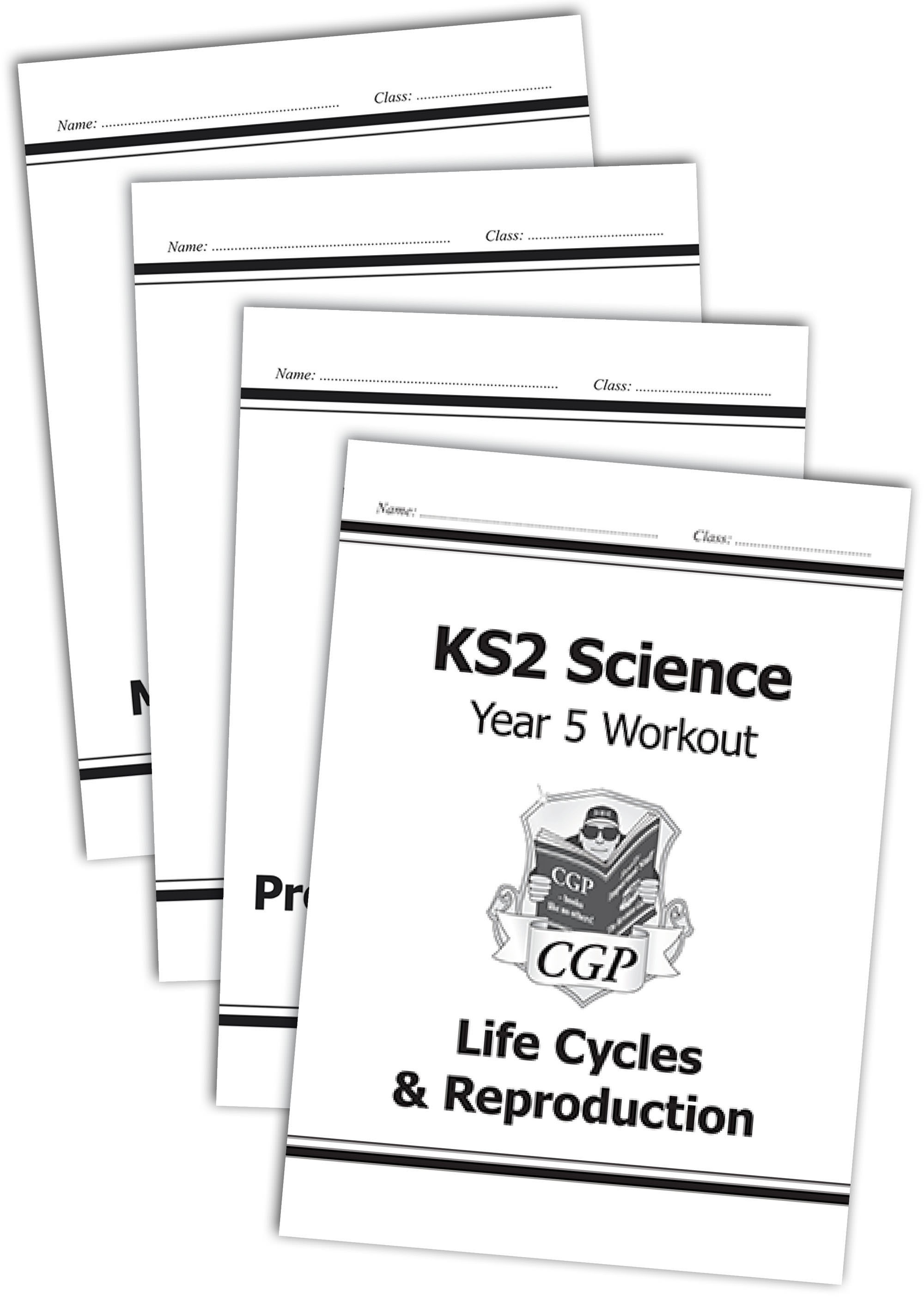 SWB522 - KS2 Science Year 5 Workout Bundle