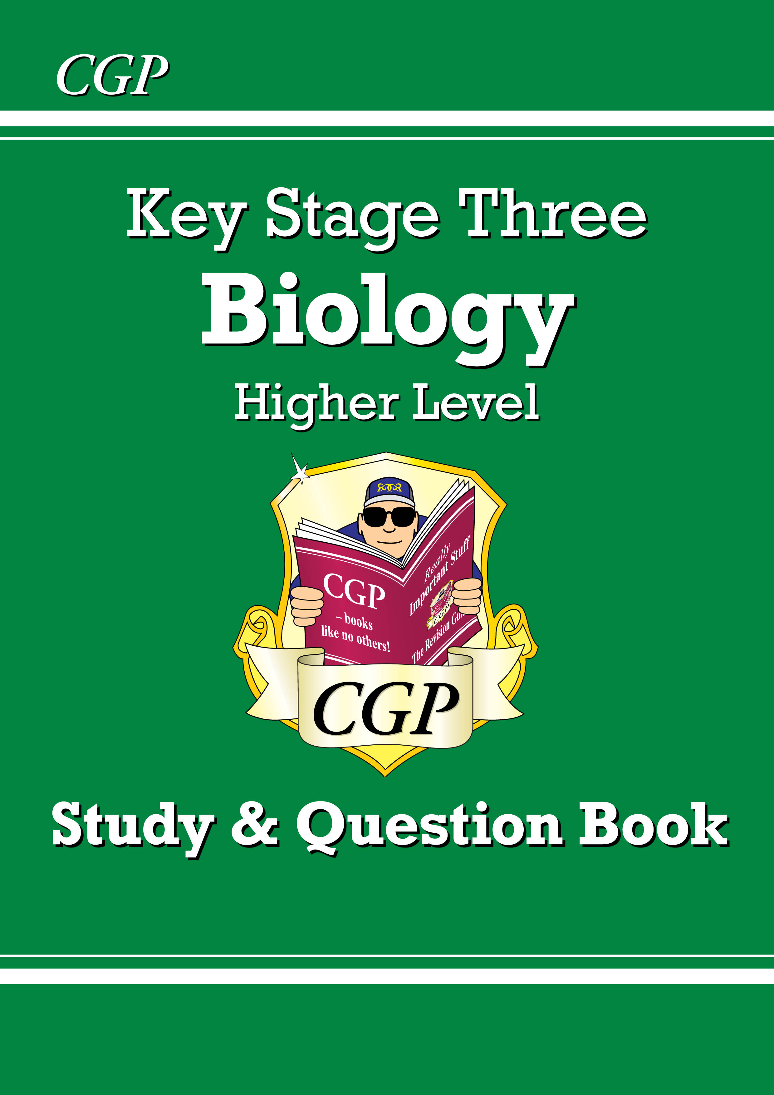 BHQ32DK - KS3 Biology Study & Question Book - Higher