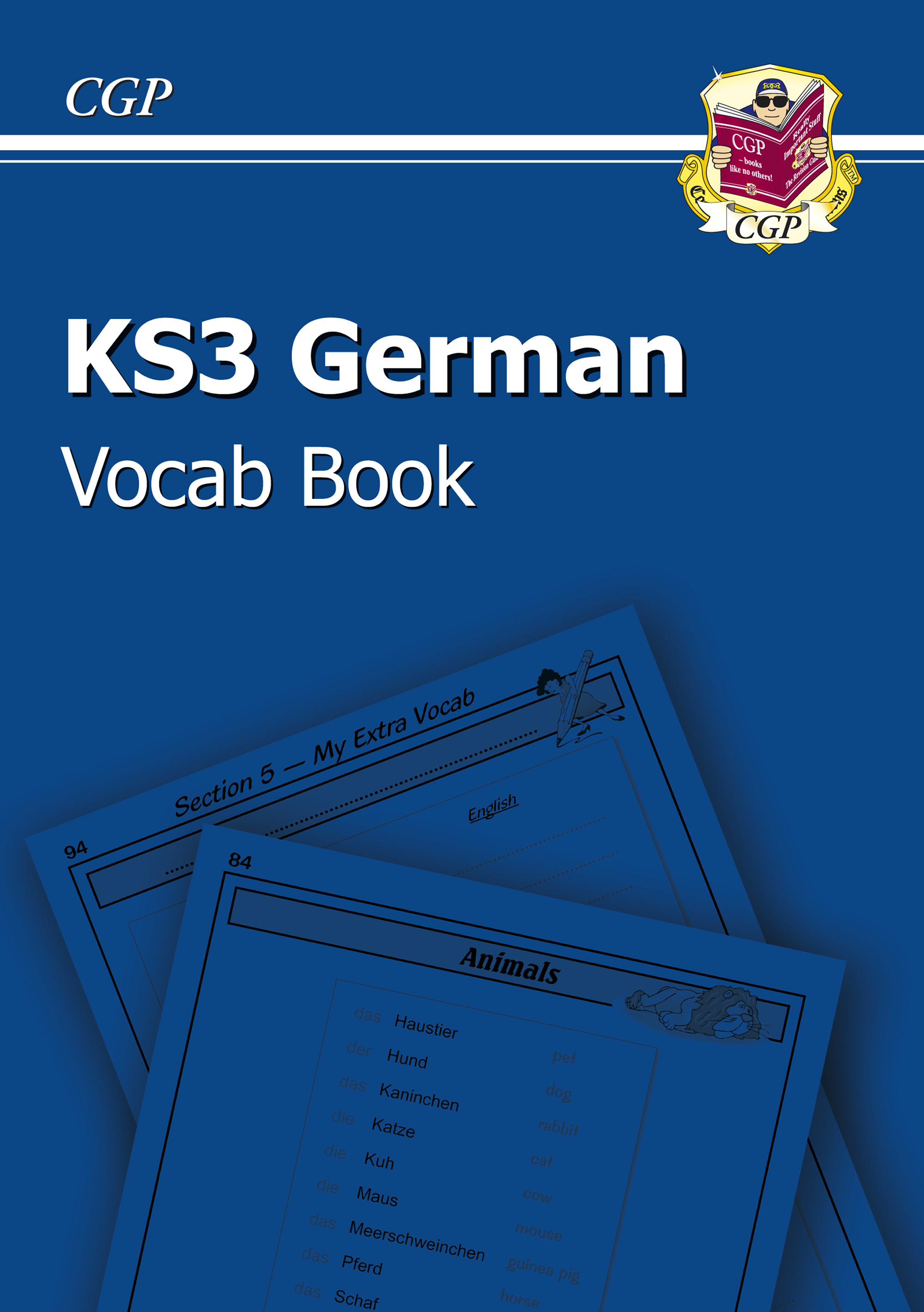 DHIC31U - KS3 German Interactive Vocab Tester Book