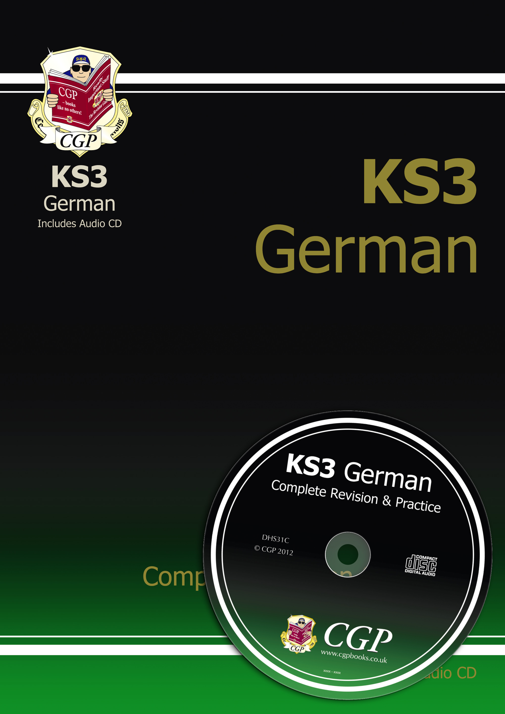 DHS31 - KS3 German Complete Revision & Practice with Audio CD