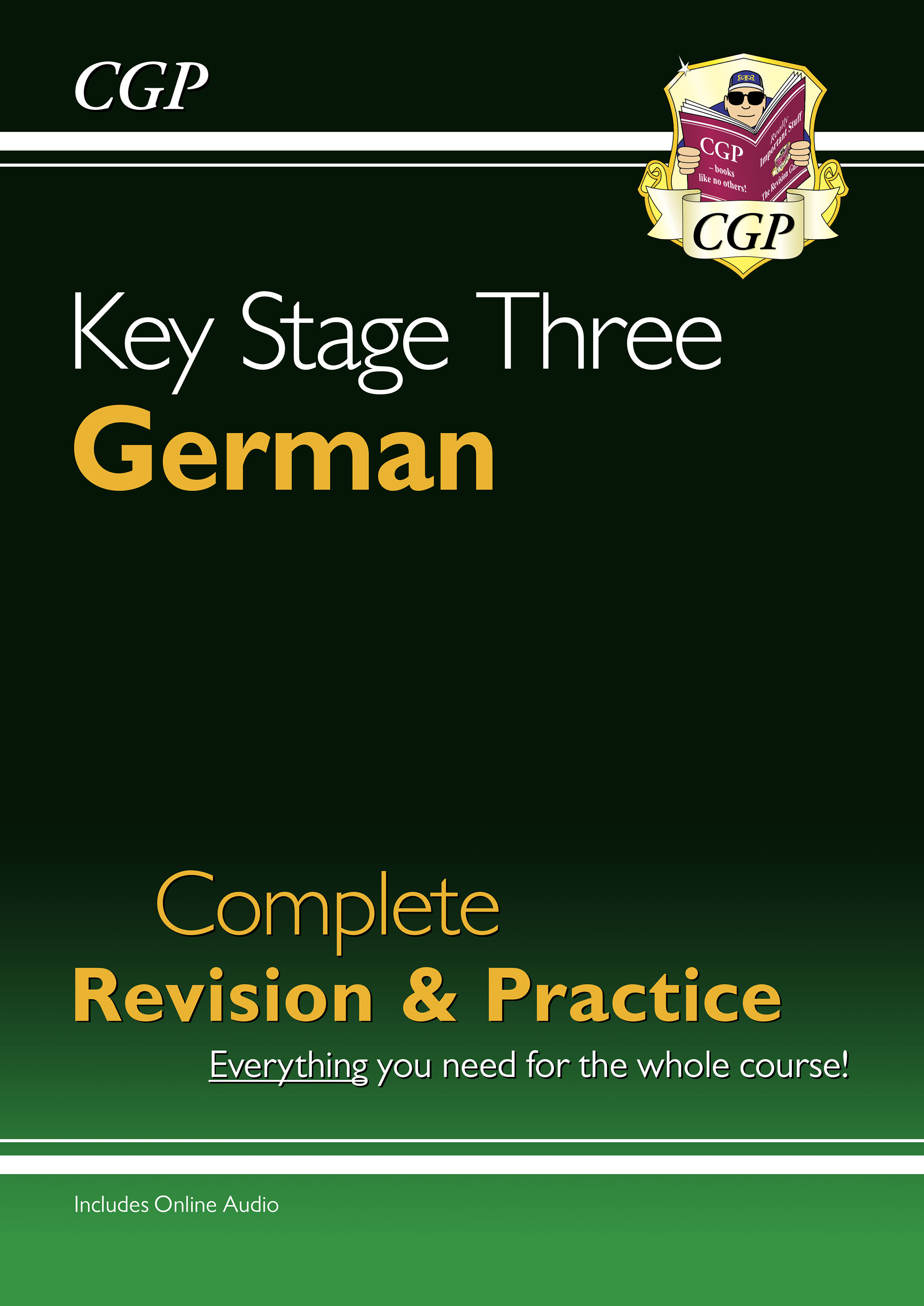 DHS32DK - New KS3 German Complete Revision & Practice with Free Online Audio