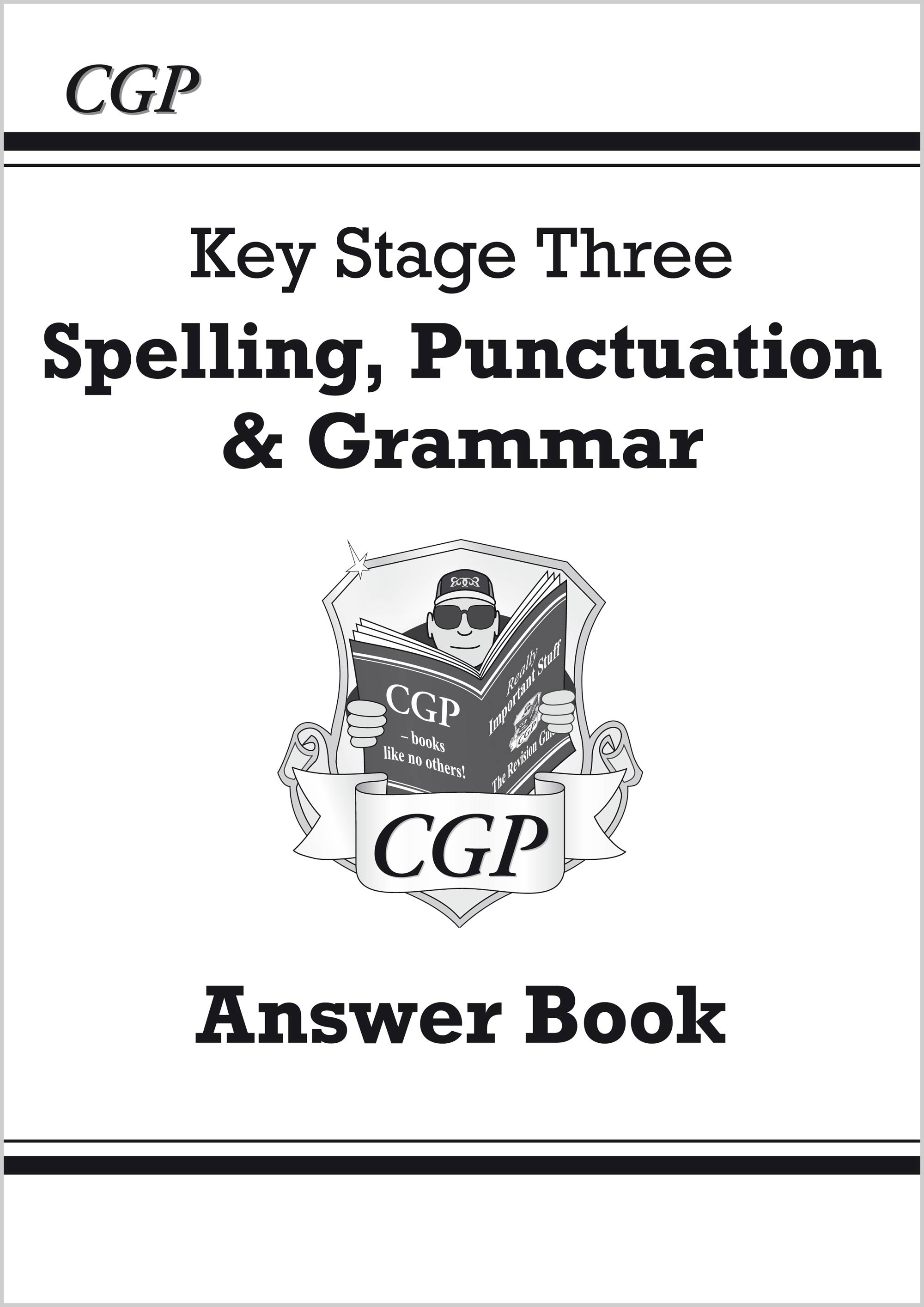 EGA31 - Spelling, Punctuation and Grammar for KS3 - Answers for Workbook