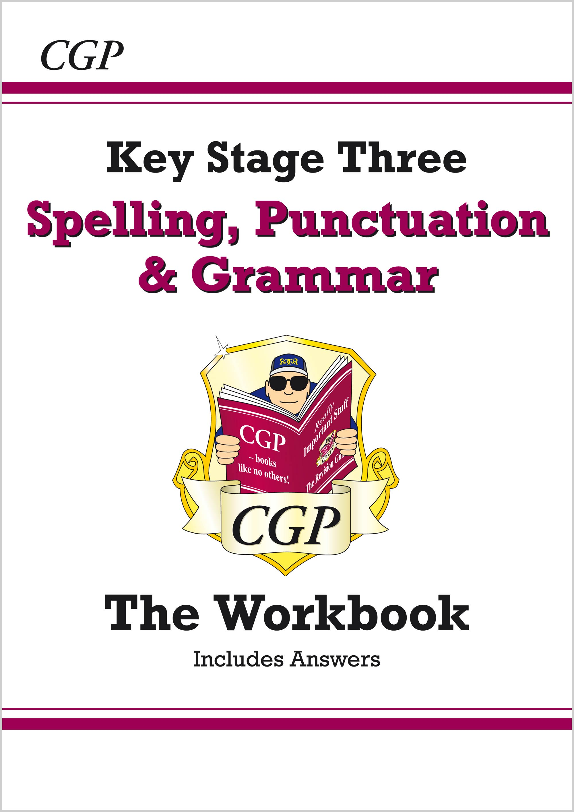 EGW31B - Spelling, Punctuation and Grammar for KS3 - Workbook (with answers)