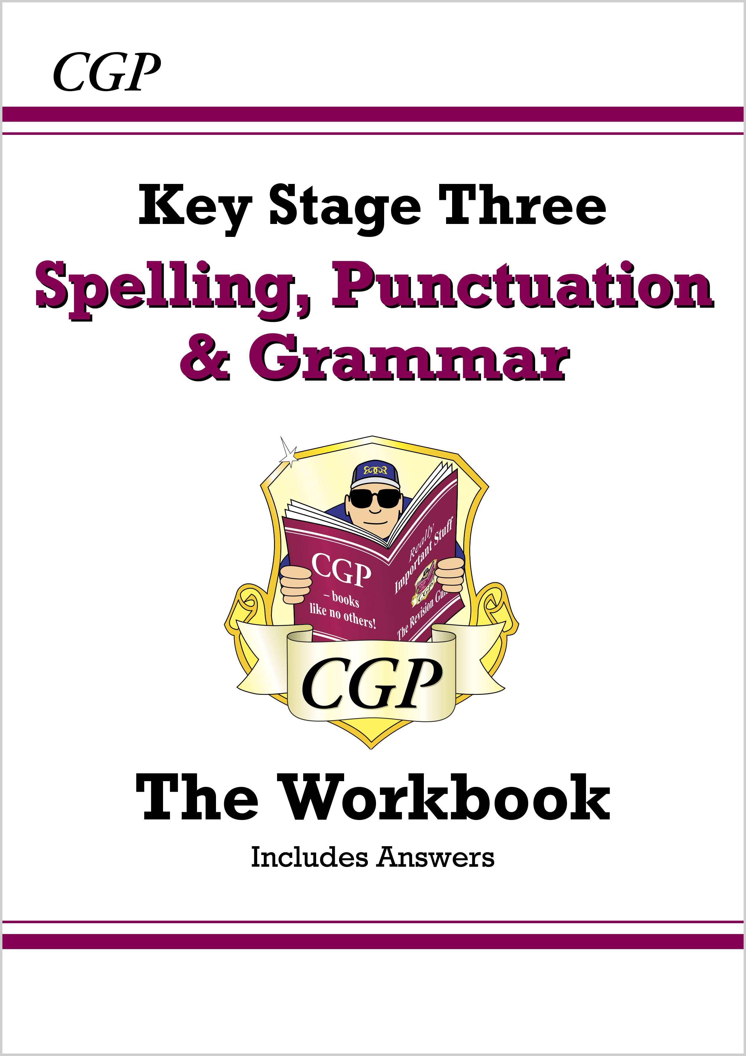 EGW31BD - Spelling, Punctuation and Grammar for KS3 - Workbook (with answers) - Online Edition