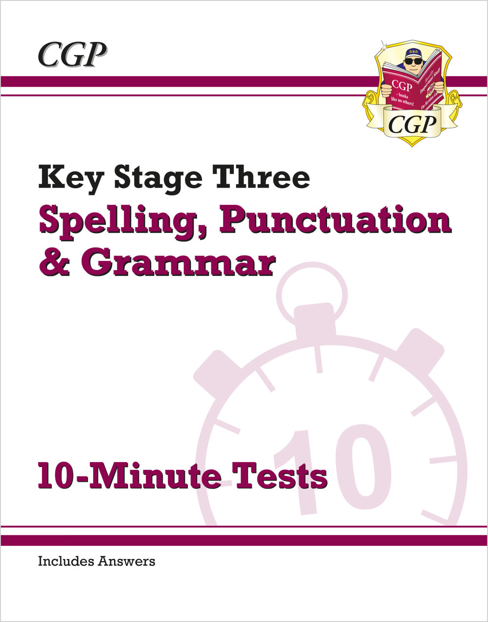 EGXP31 - KS3 Spelling, Punctuation and Grammar 10-Minute Tests (includes answers)