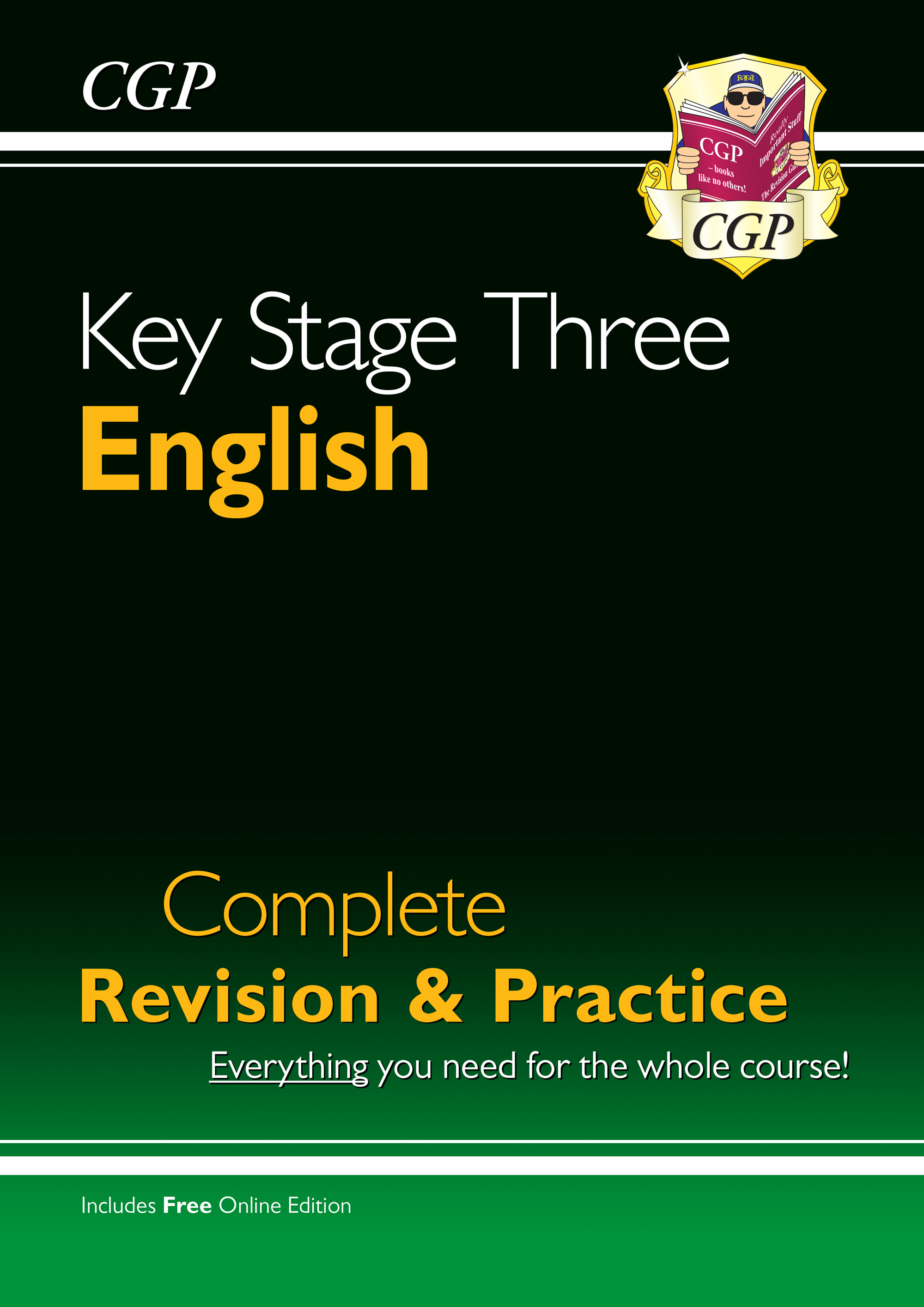 EHS36 - KS3 English Complete Revision & Practice (with Online Edition)