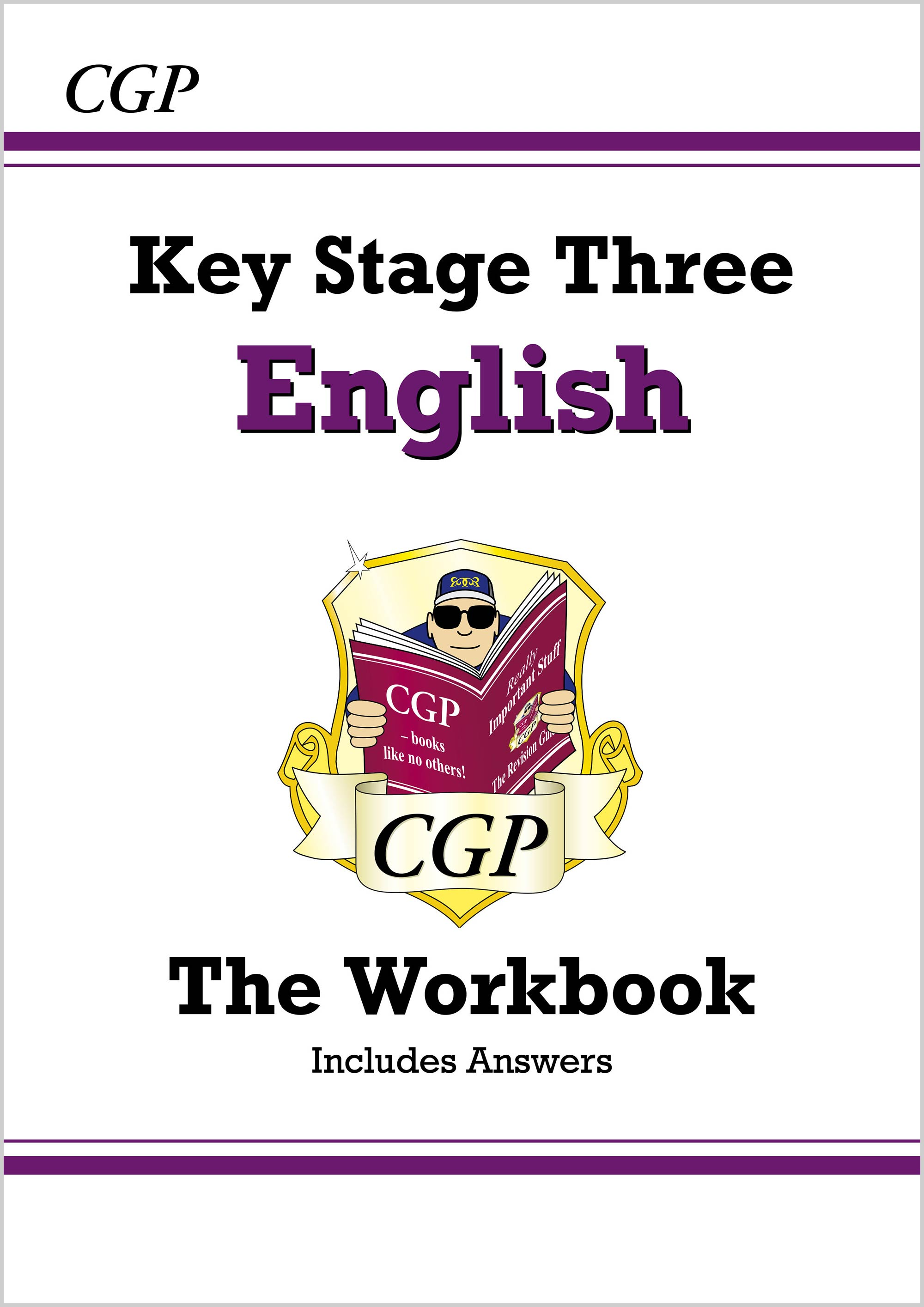 EHW35BDK - KS3 English Workbook (with answers)