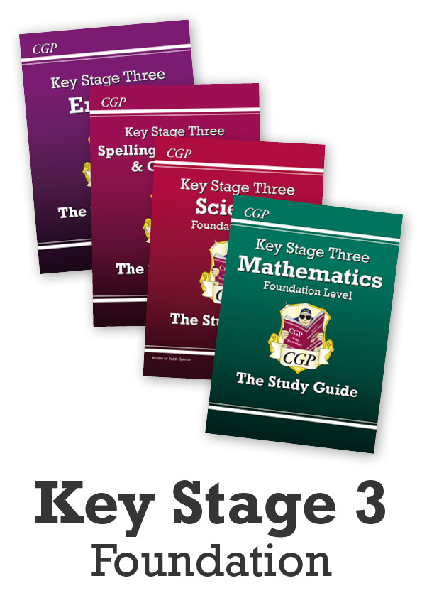 EMFSTBB31 - Key Stage Three Home Learning Essentials: Study Guide Bundle (Foundation) - Ages 11-14