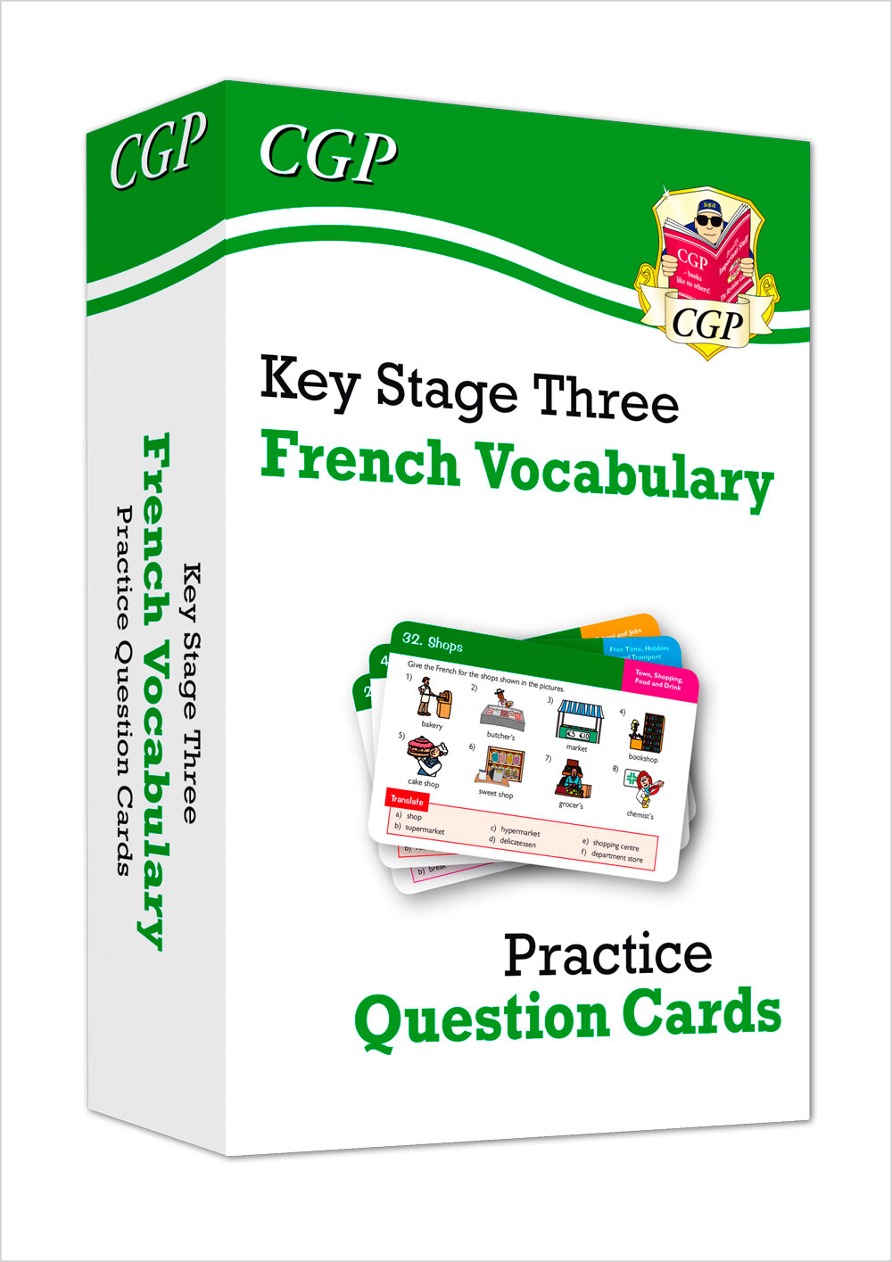 FAVF31 - New KS3 French: Vocabulary Practice Question Cards