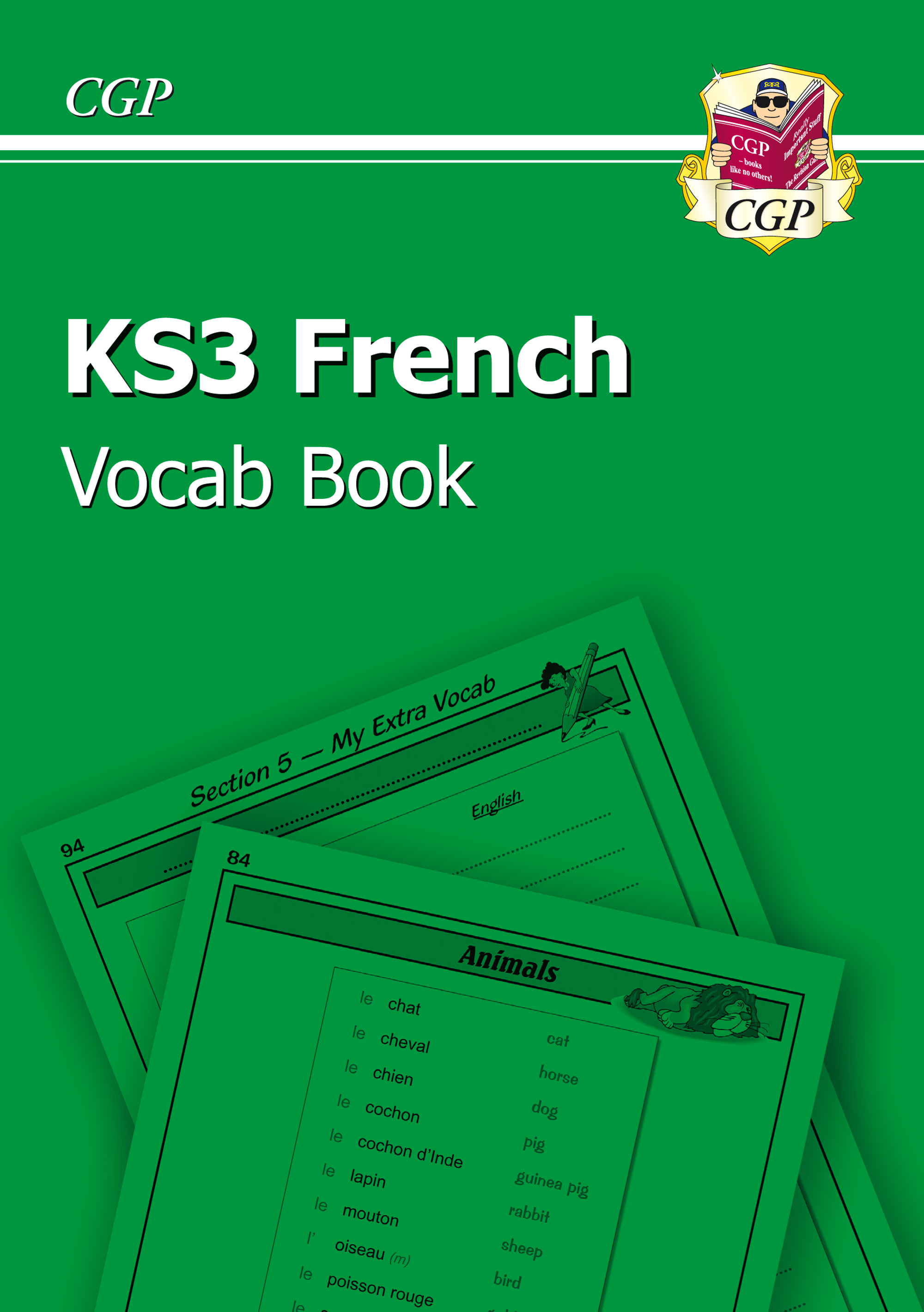 FHIC31U - KS3 French Interactive Vocab Tester Book