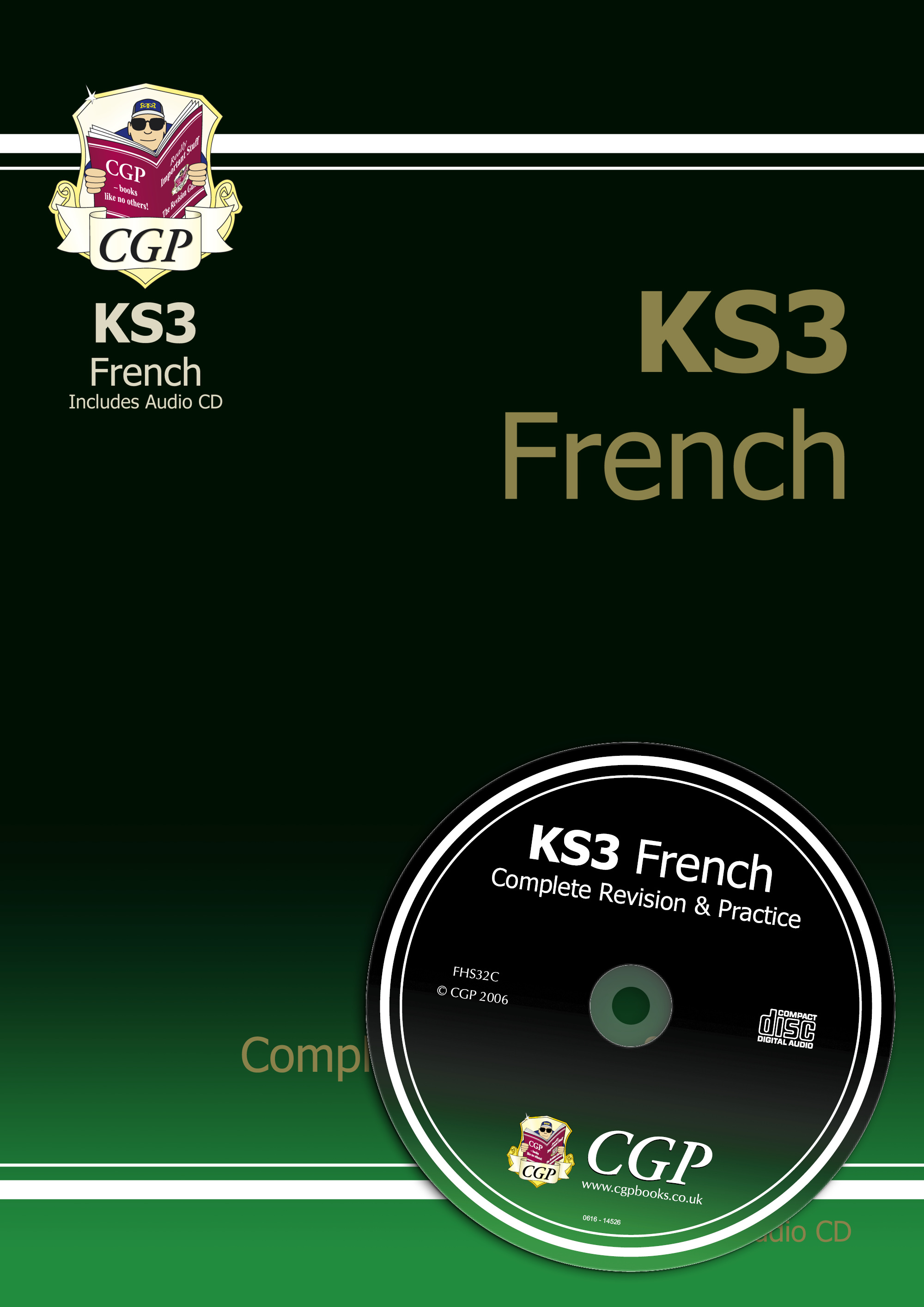 FHS32 - KS3 French Complete Revision & Practice with Audio CD