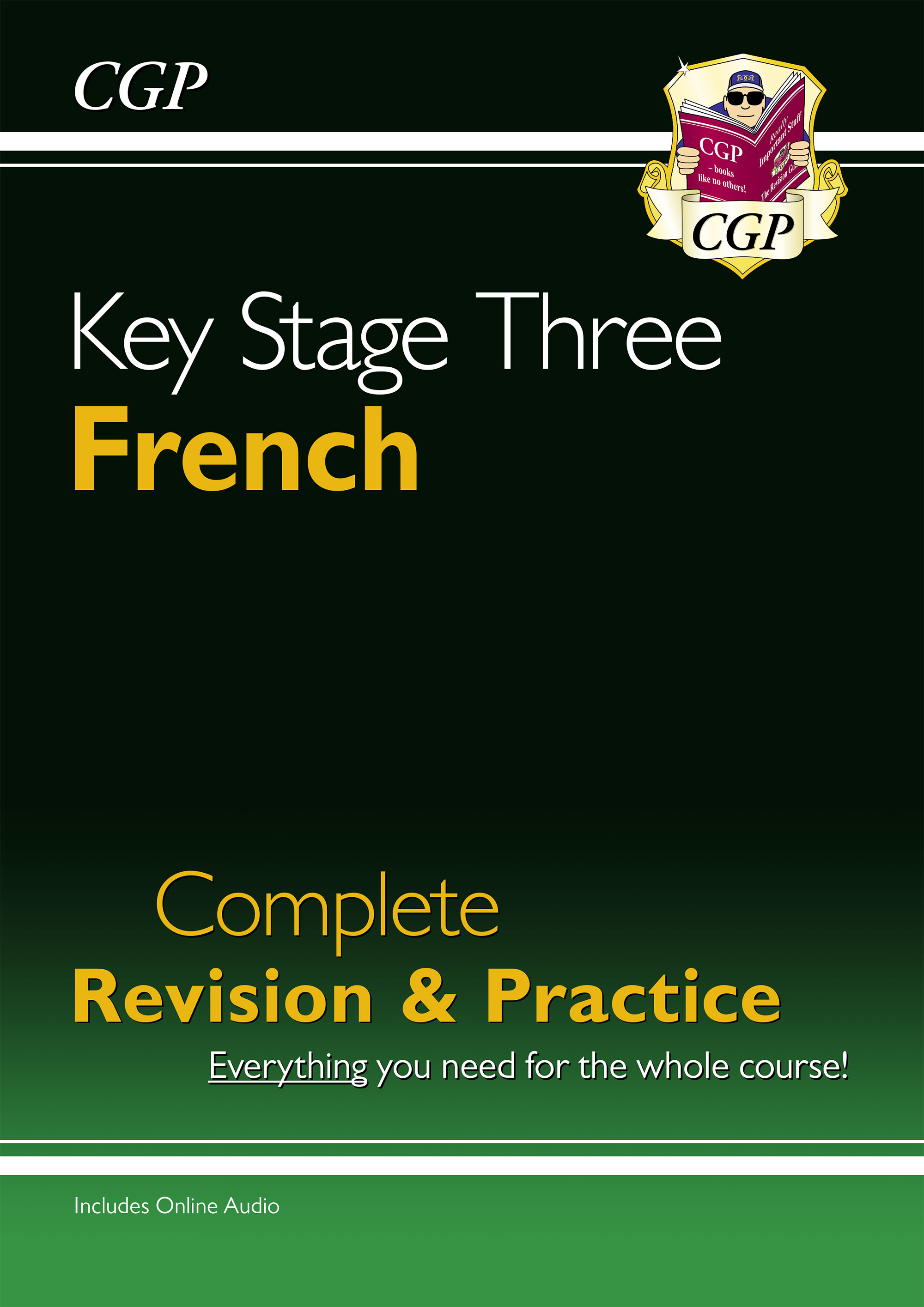 FHS33DK - New KS3 French Complete Revision & Practice with Free Online Audio