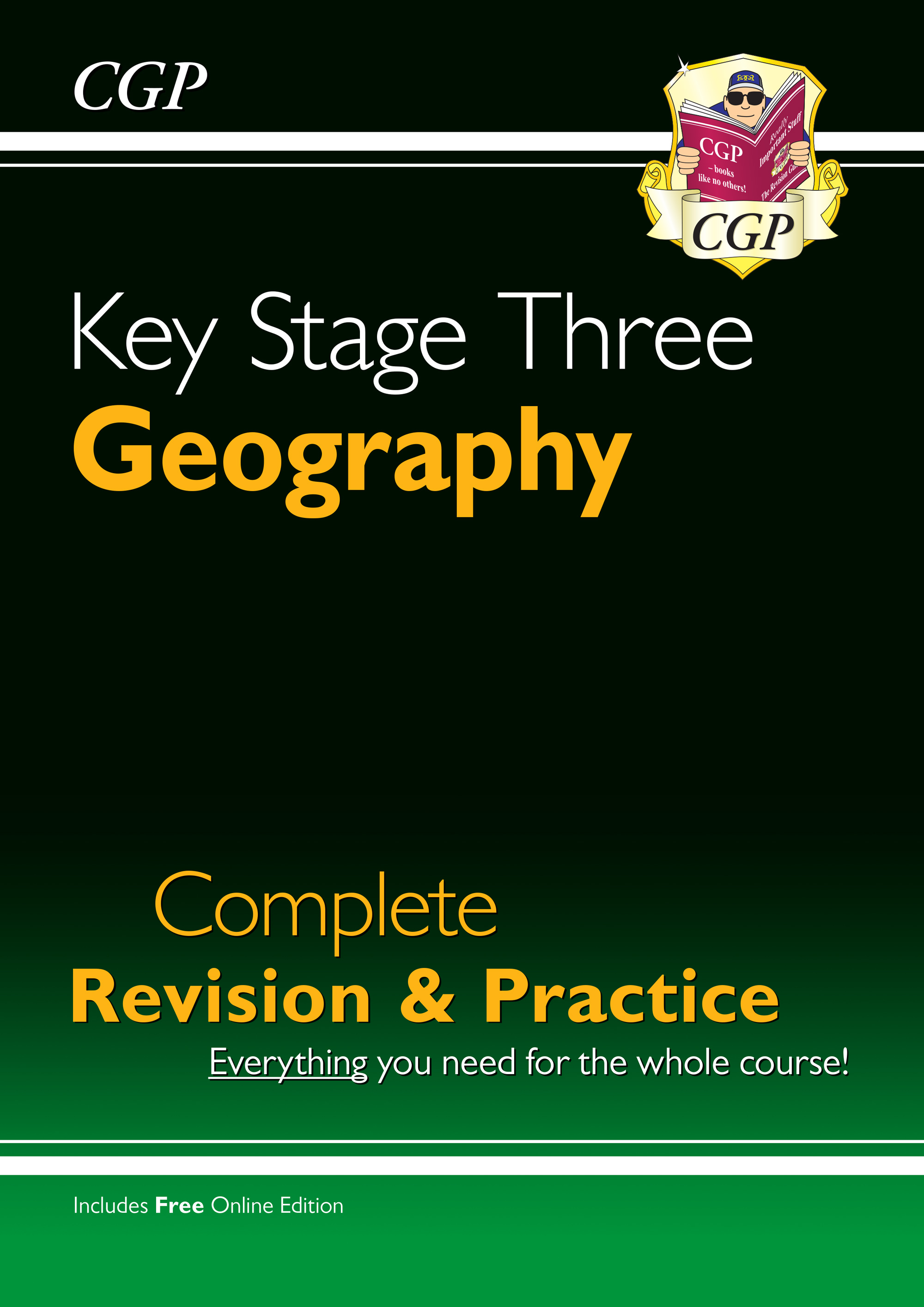 GHS34 - New KS3 Geography Complete Revision & Practice (with Online Edition)