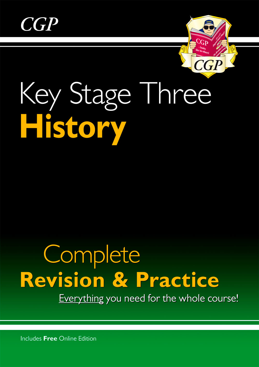 HHS34 - New KS3 History Complete Revision & Practice (with Online Edition)