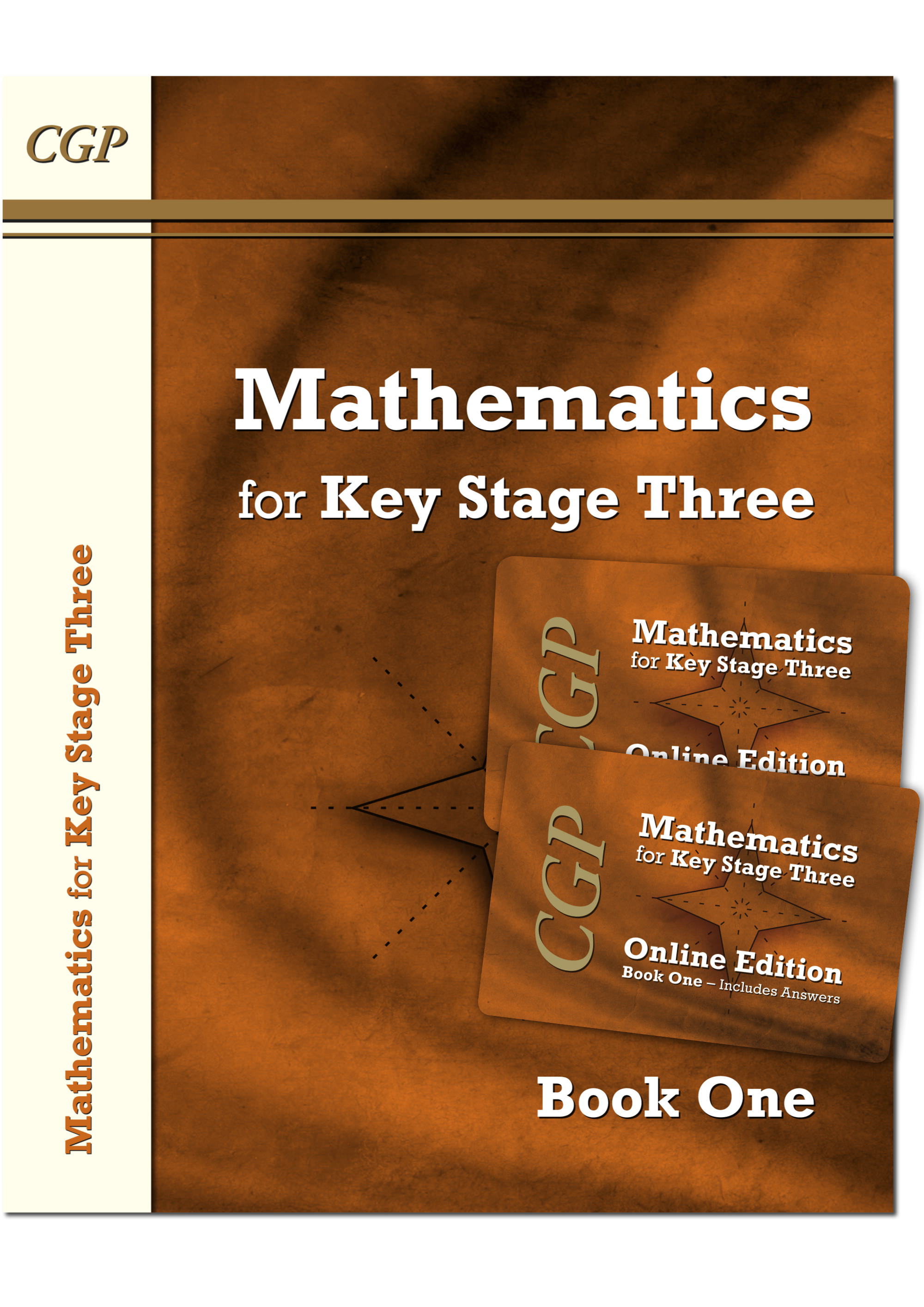 M1NB31 - KS3 Maths Textbook 1 plus two Online Editions (with answers)