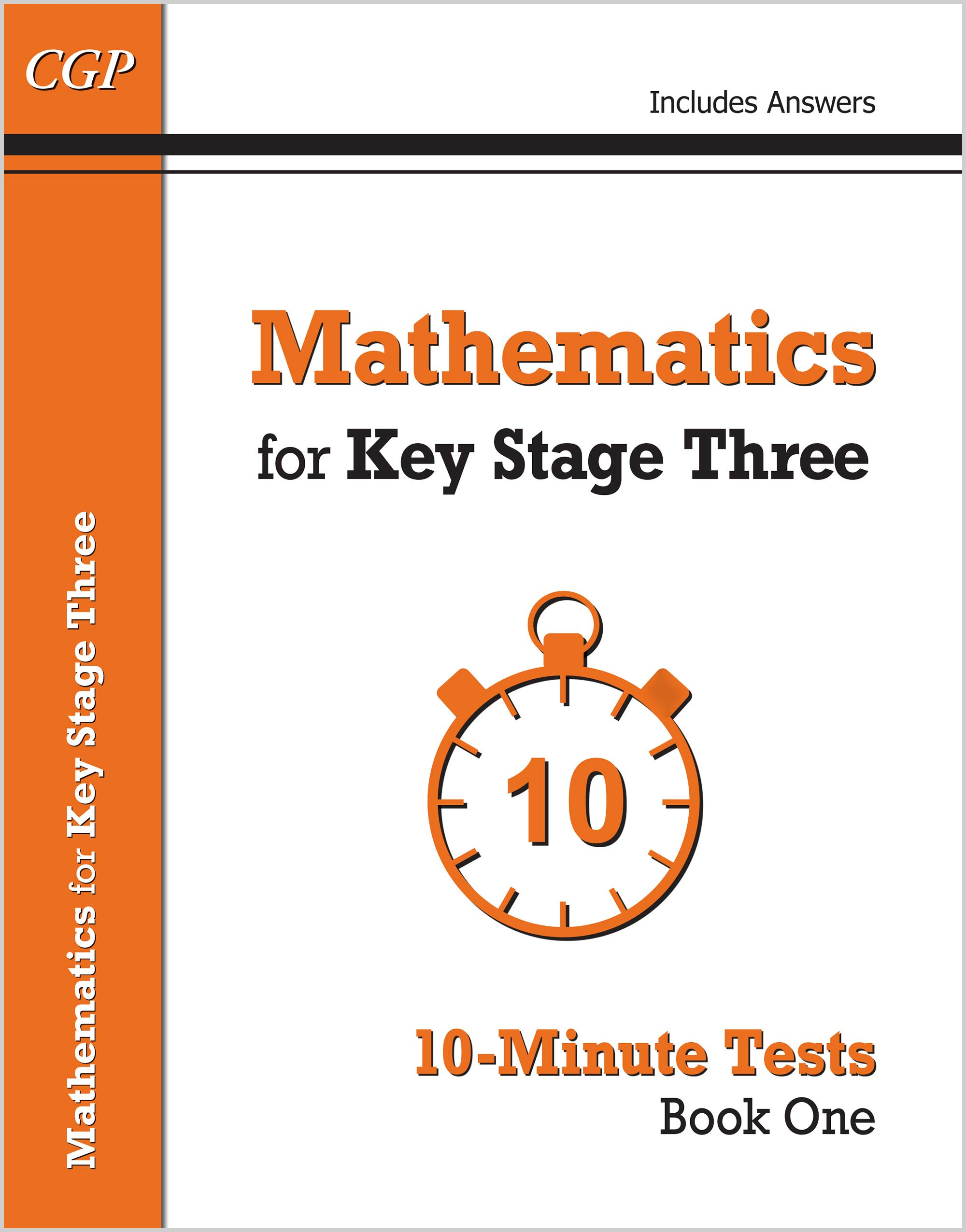 M1XP31 - Mathematics for KS3: 10-Minute Tests - Book 1 (including Answers)