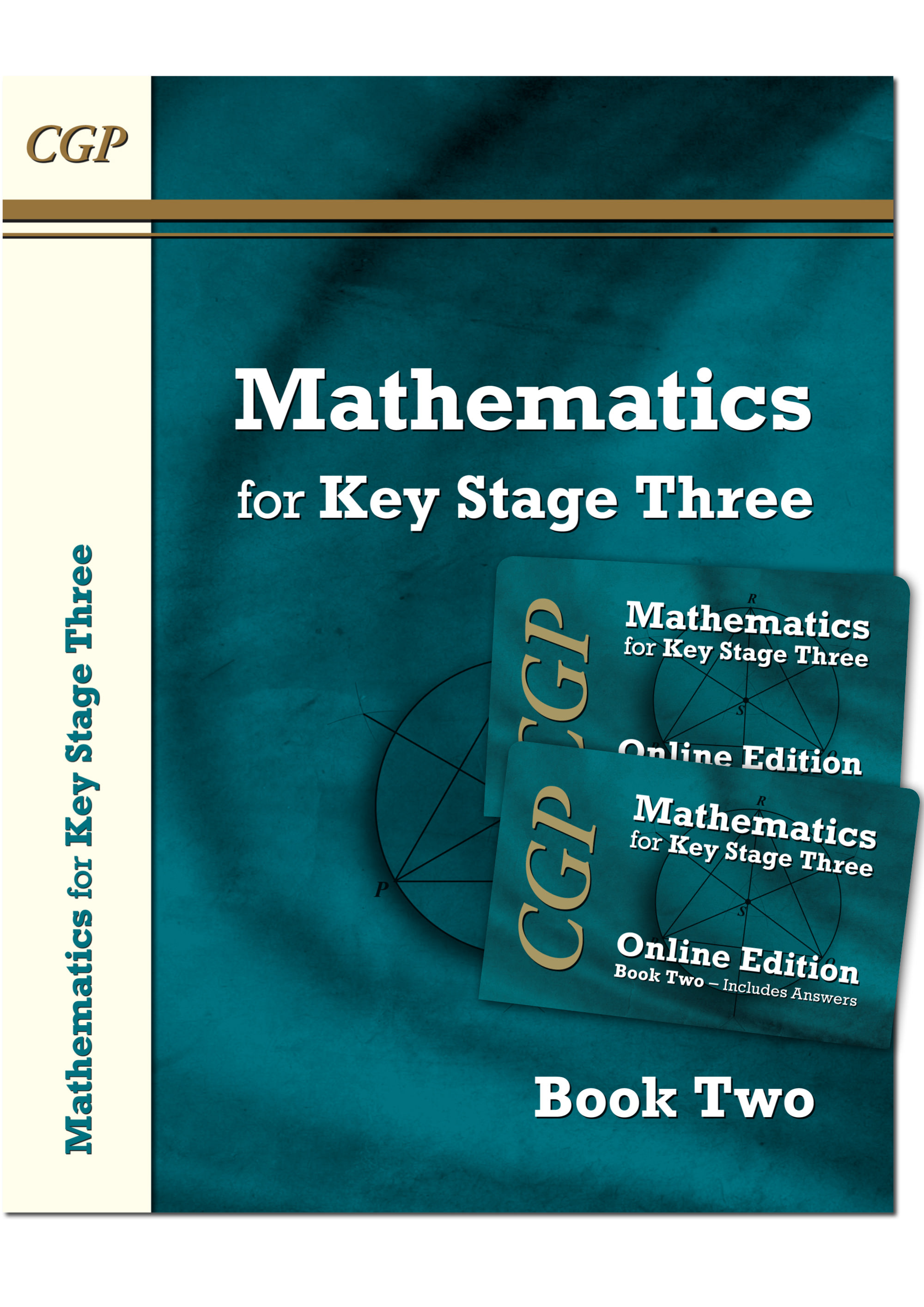M2NB31 - KS3 Maths Textbook 2 plus two Online Editions (with answers)